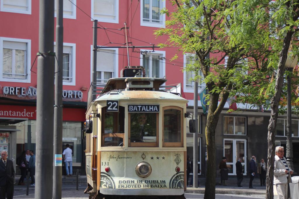 Le tram de Porto  Photo61-4c3e01d