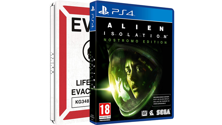 Alien Isolation Nostromo Edition Steelbook