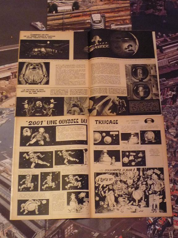 quelques livres sur 2001 odyssée de l'espace Ti50-p1230010-4974336