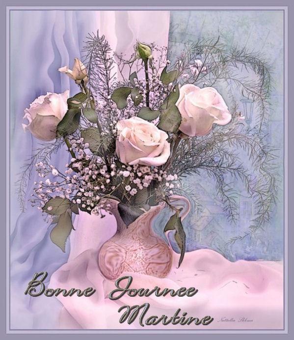 BONNE JOURNEE DE VENDREDI Fleurs-roses-485a805