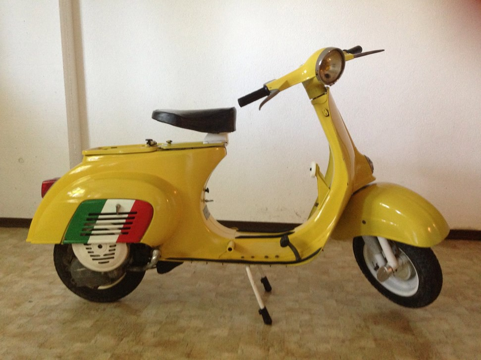 vespa 50 a pedale