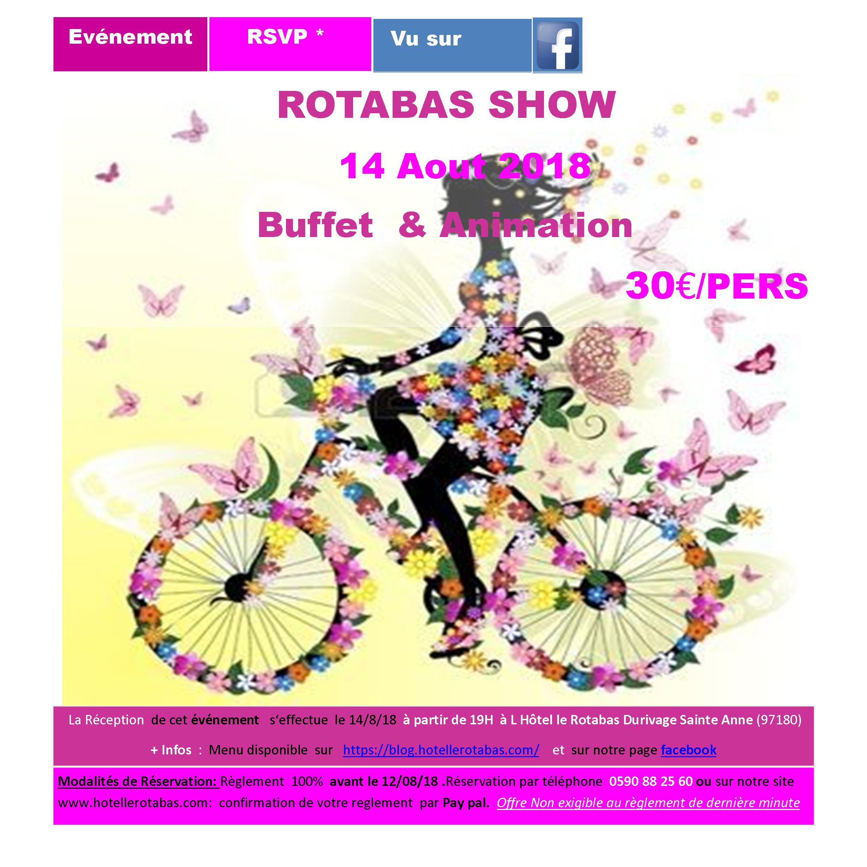 ROTABAS SHOW 14 AOUT 18