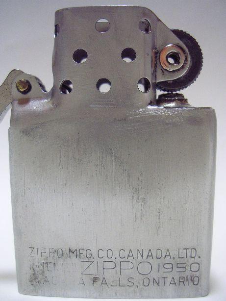 [Datation] Les Zippo Canada (Niagara Falls, Ontario) 1951-1958-5237124