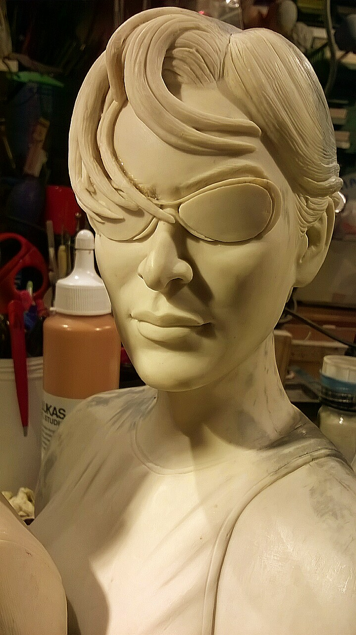 Buste de matrix : Néo,Trinity,Morpheus au 1/3  Img_20160404_182607-4ef98b0