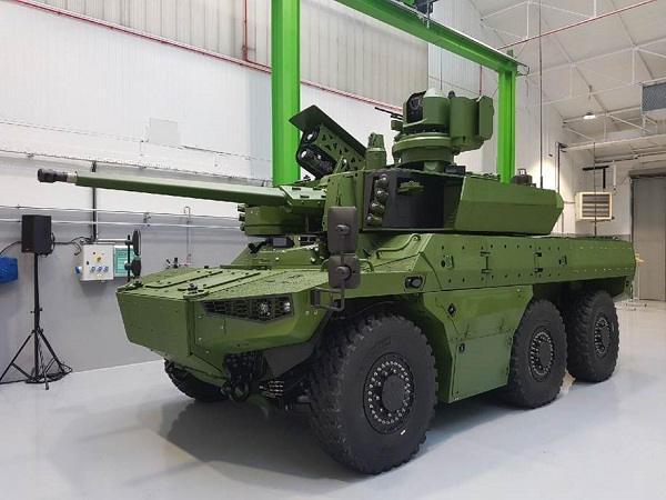 SCORPION : Le premier véhicule blindé multi-rôles « Griffon » a été livré à l'armée de Terre 2-5658ae1