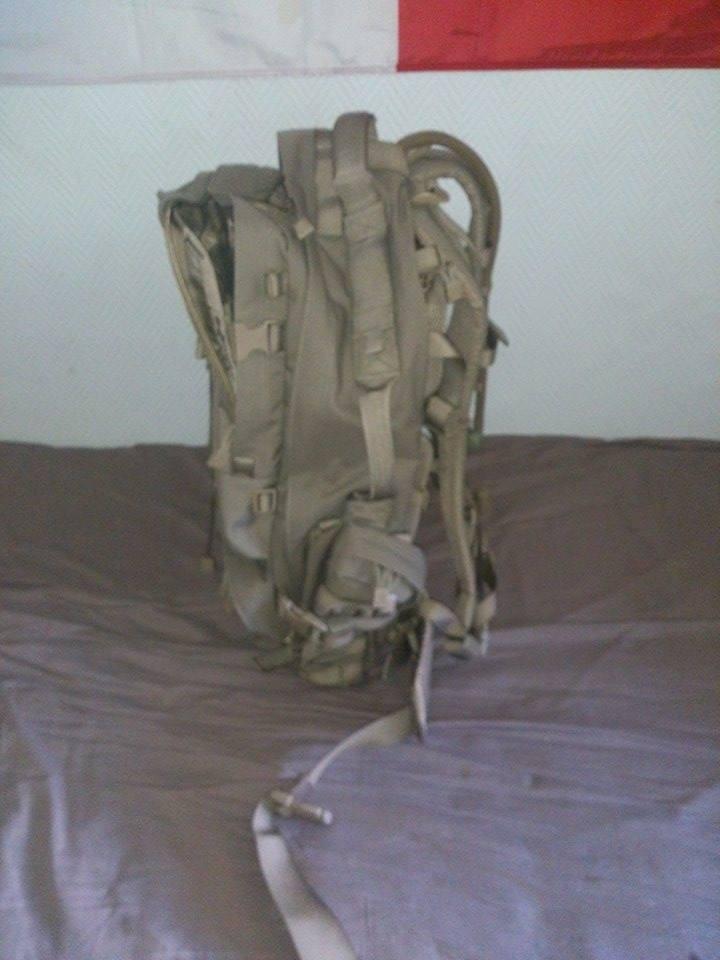 Musette De Combat Fr Type Afghanistan,ration de combat Norvégienne Sac2-4785819