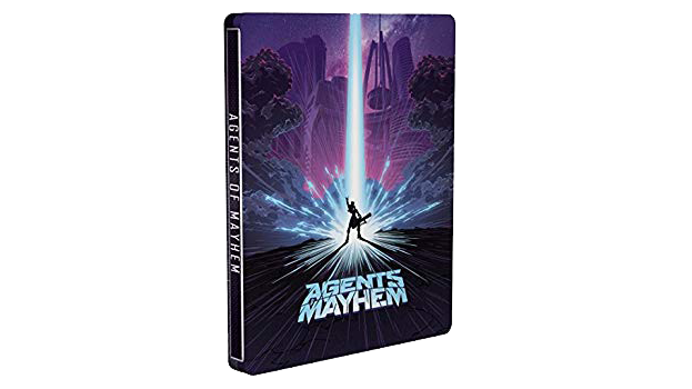 Agents of Mayhem Edition Day One Steelbook