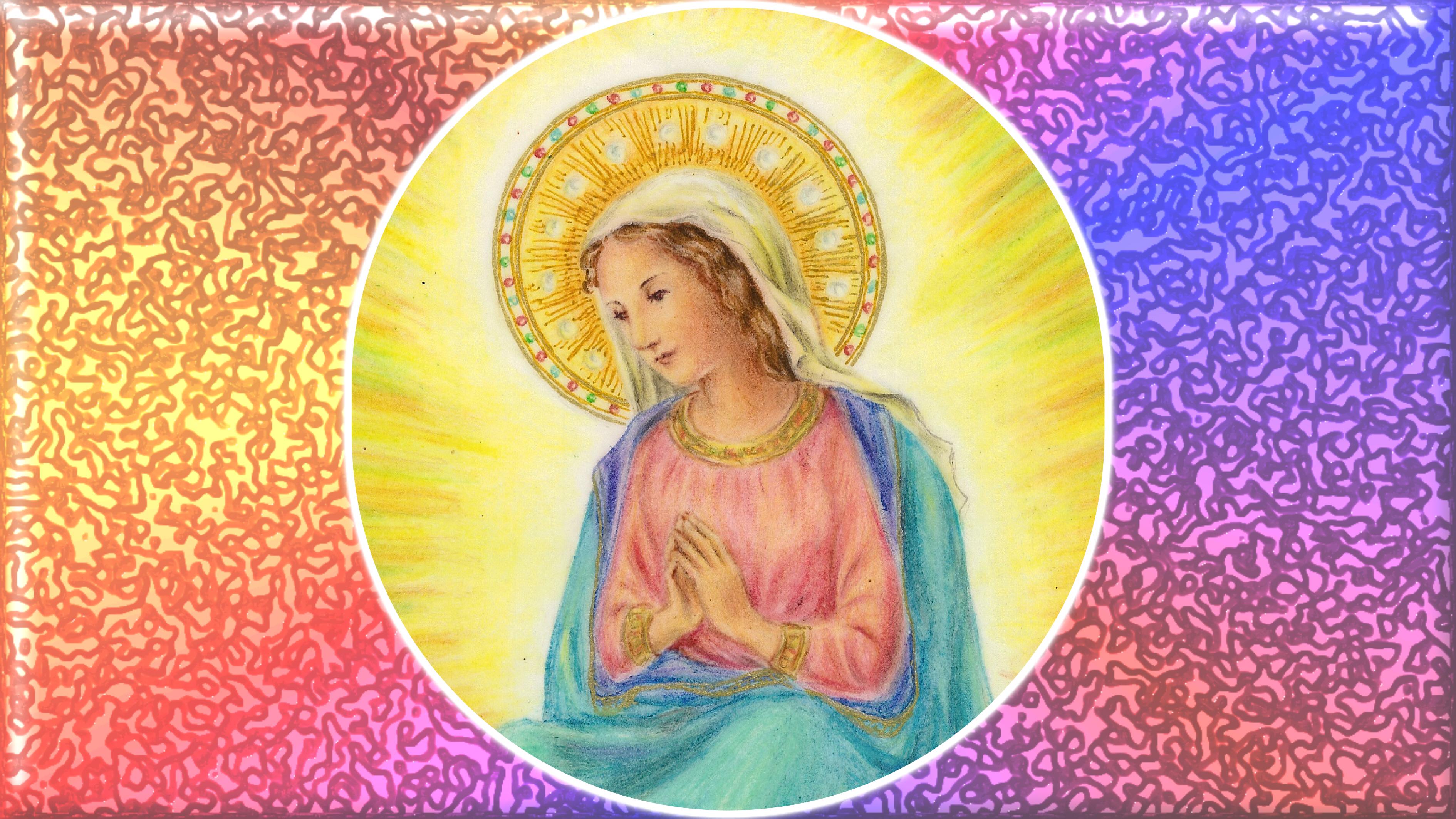 Le Rosaire en Images - Page 3 Marie-56432dd