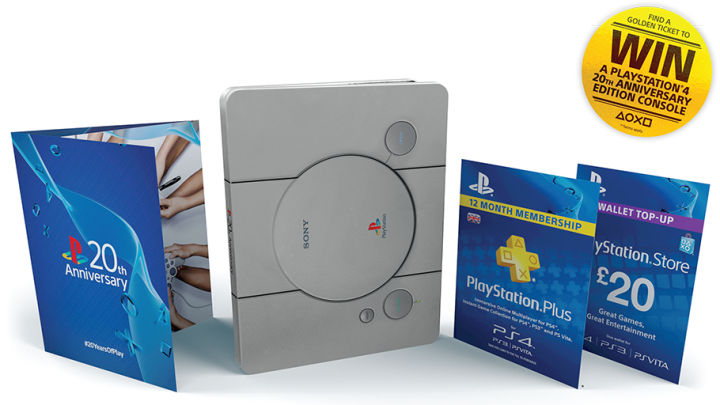 20th Anniversary Playstation Steelbook
