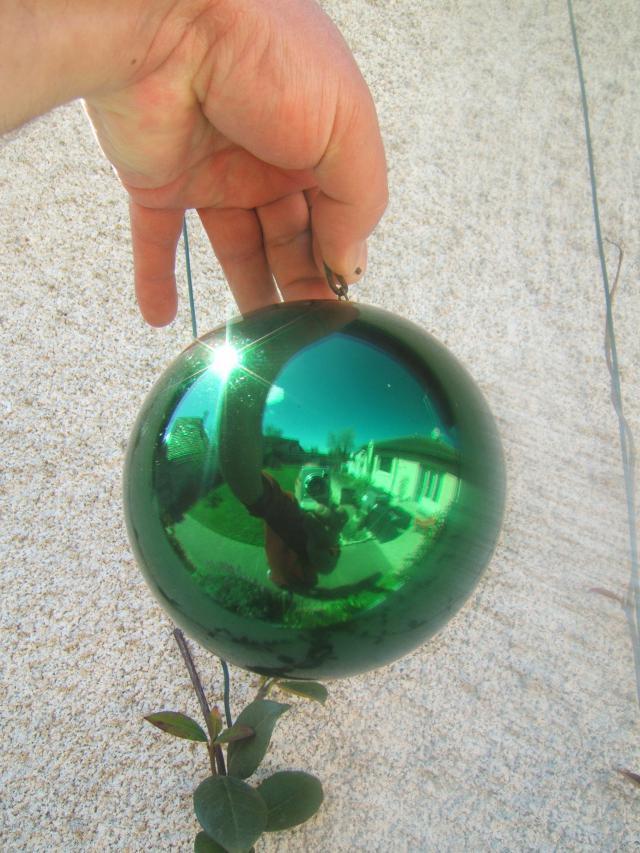 Ancienne boule de no l boule de pardon verre souffl mercuris glomis 19 me ebay - Boule de noel en verre ancienne ...