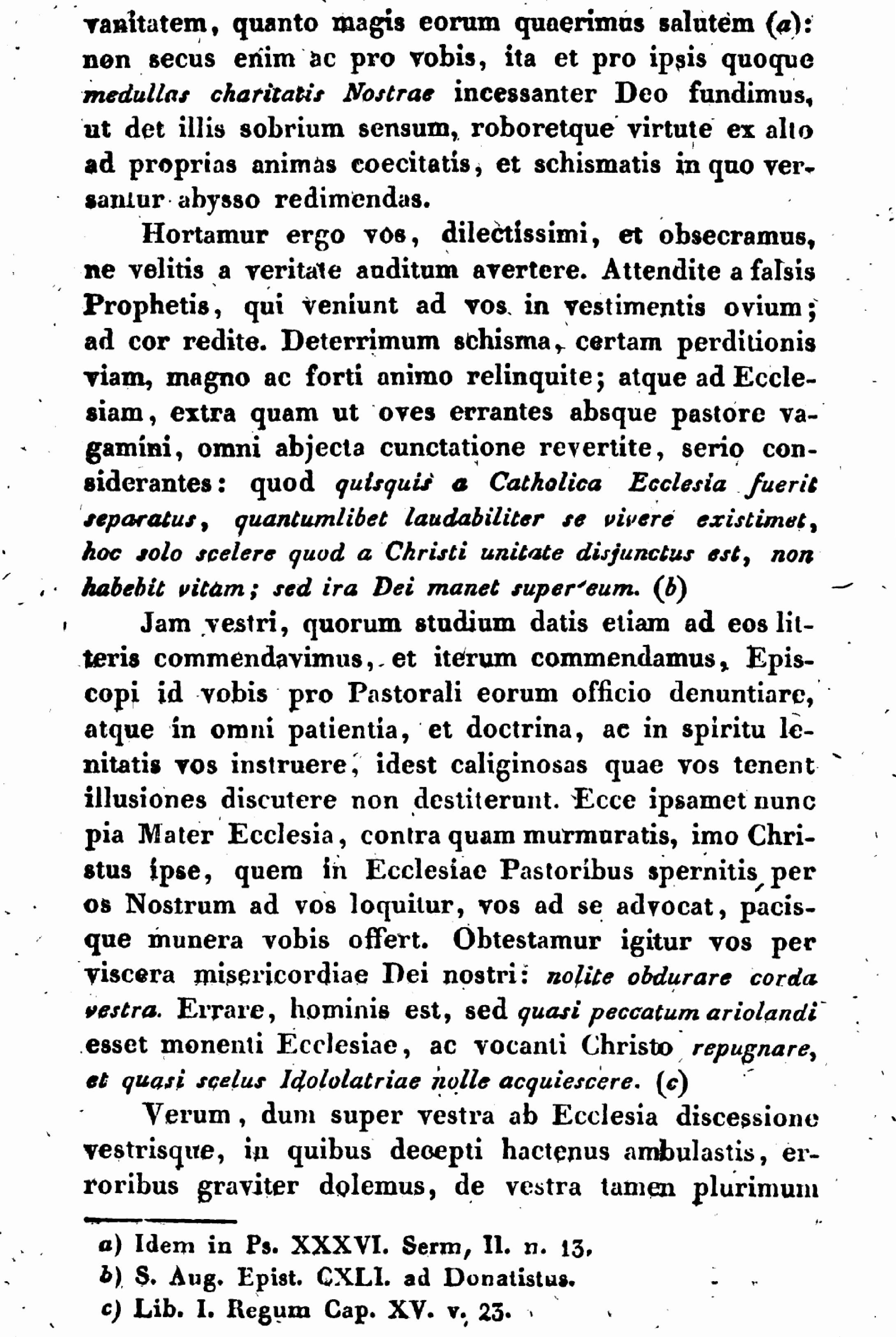 """Exhortation """"PASTORIS ÆTERNI"""" aux Dissidents anticoncordataires de la PETITE-ÉGLISE (2/7/1826) Léon XII Exhortation-pasto...n-xii-9--55d6286"""
