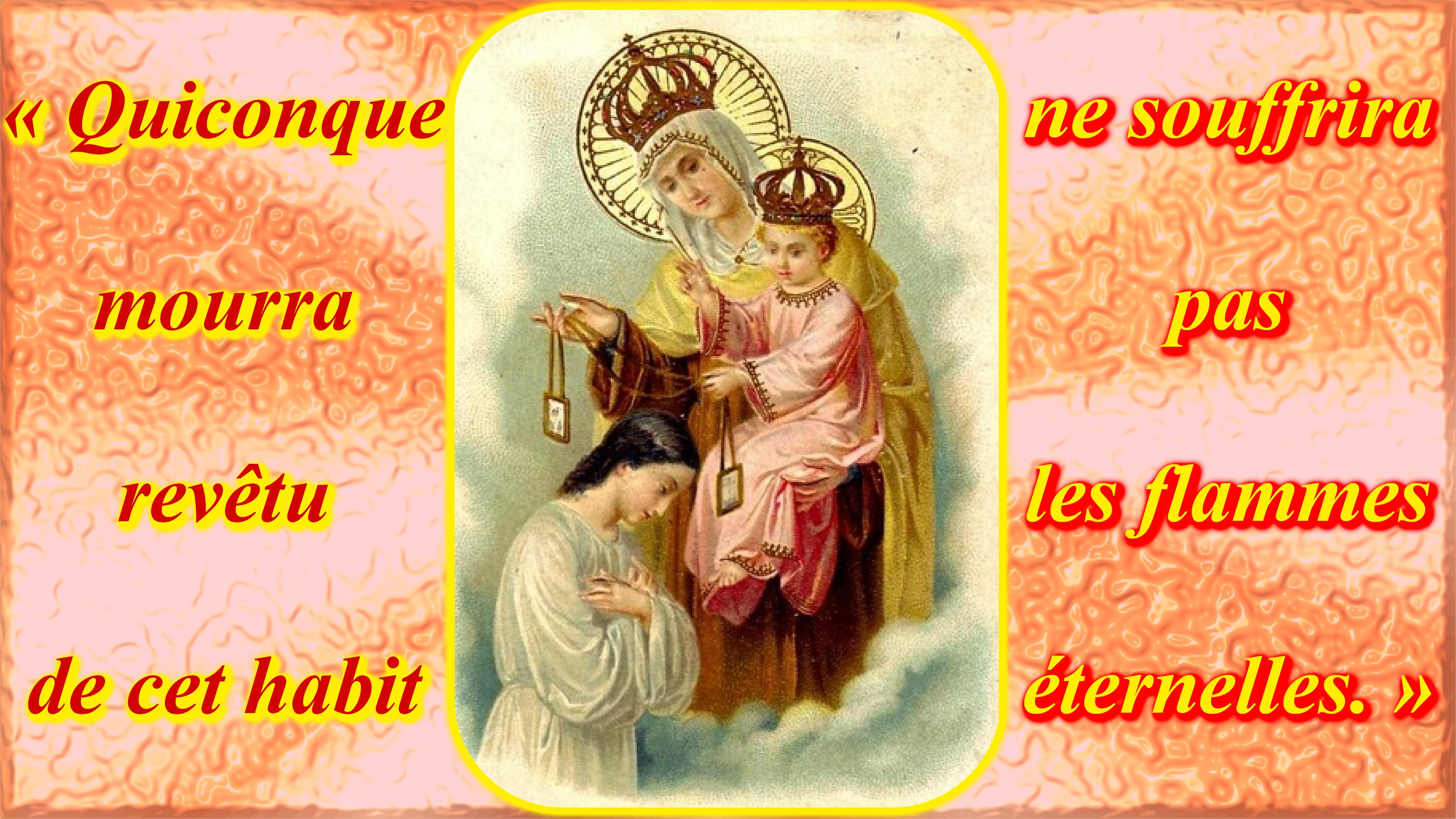 CALENDRIER CATHOLIQUE 2020 (Cantiques, Prières & Images) - Page 20 Notre-dame-du-mon...apulaire-5579ca8