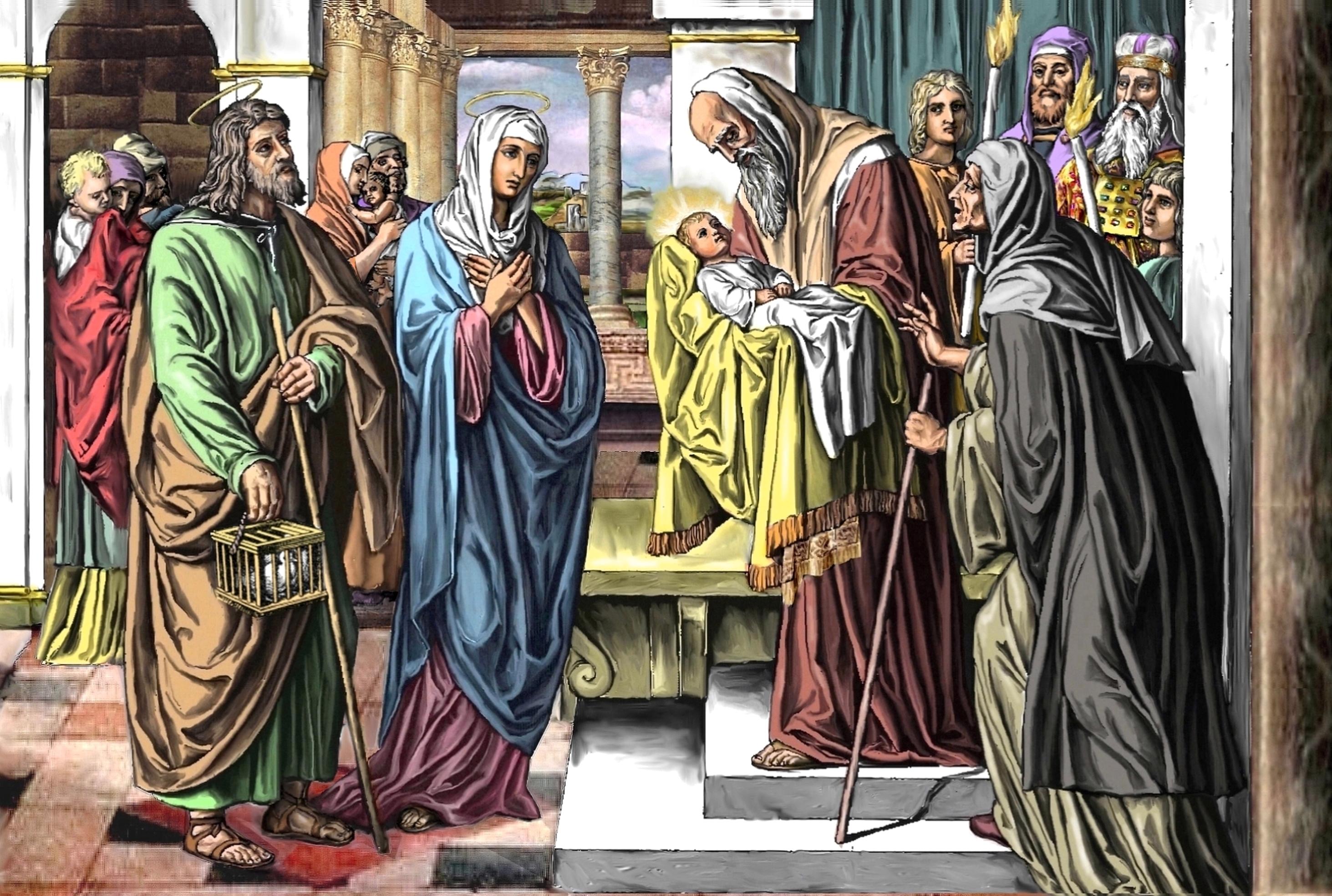 POURQUOI je t'AIME, ô MARIE ! - Page 2 La-pr-sentation-d...u-temple-55b3e67