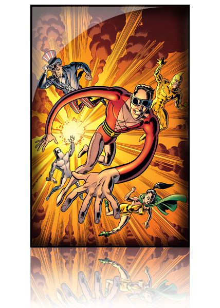 Convergence - Plastic Man and the Freedom Fighters Tome 02
