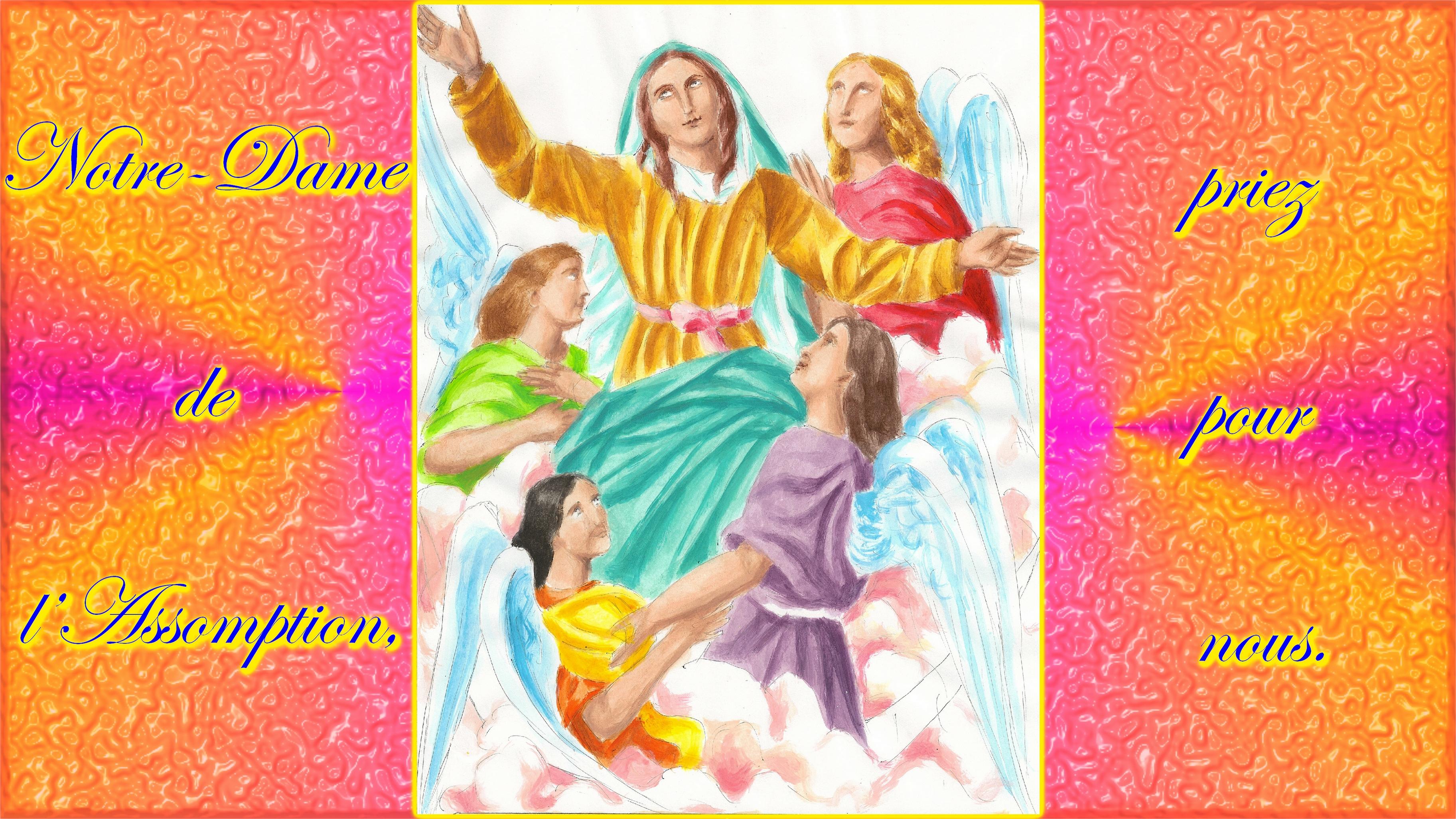 CALENDRIER CATHOLIQUE 2019 (Cantiques, Prières & Images) - Page 6 Notre-dame-de-l-a...ption-2--5648c91