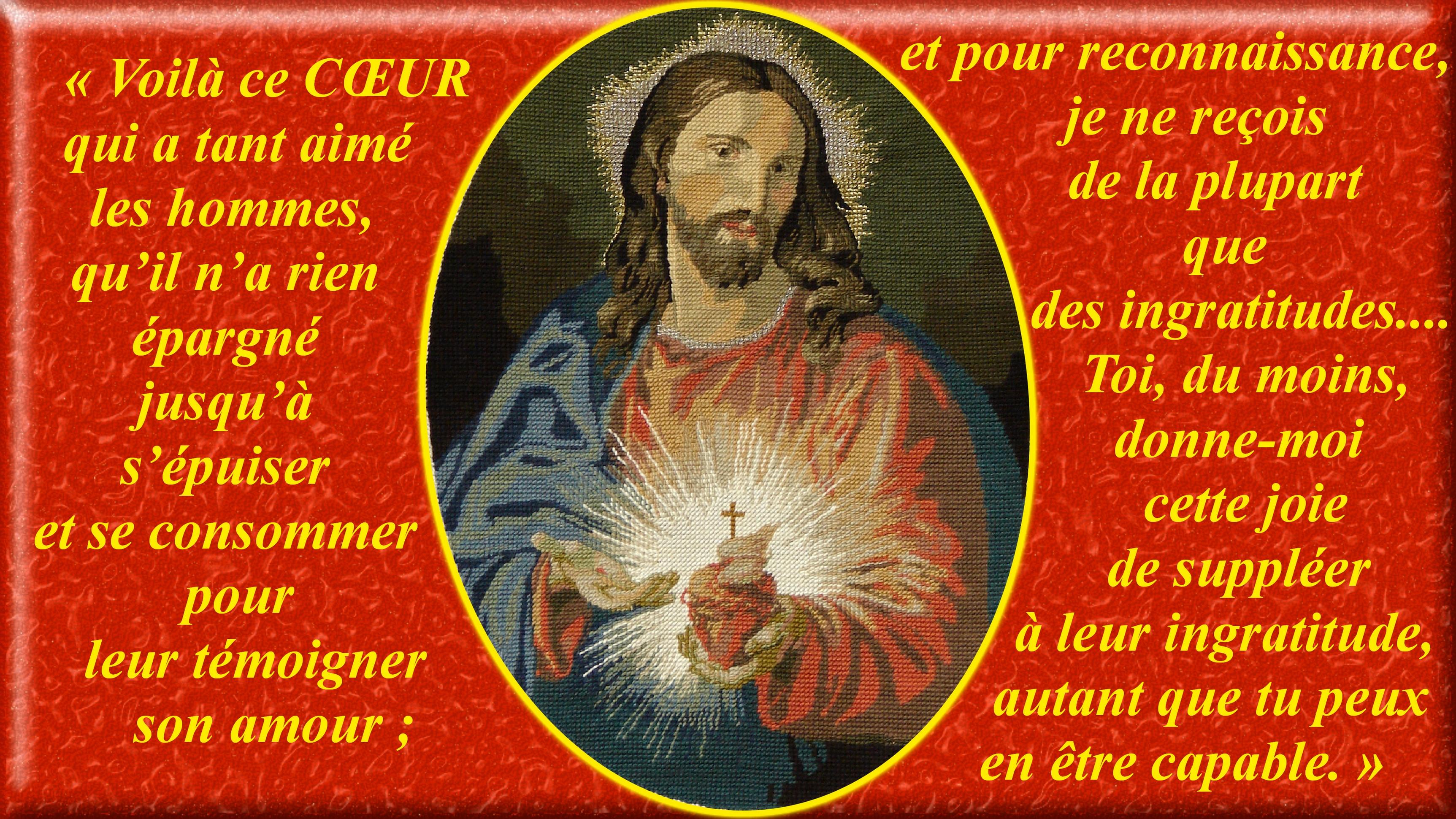 """Encyclique """"MISERENTISSIMUS REDEMPTOR"""" sur la RÉPARATION au SACRÉ-CŒUR (08/05/1928) Pie XI Canevas-du-sacr--...-hommes--5573014"""