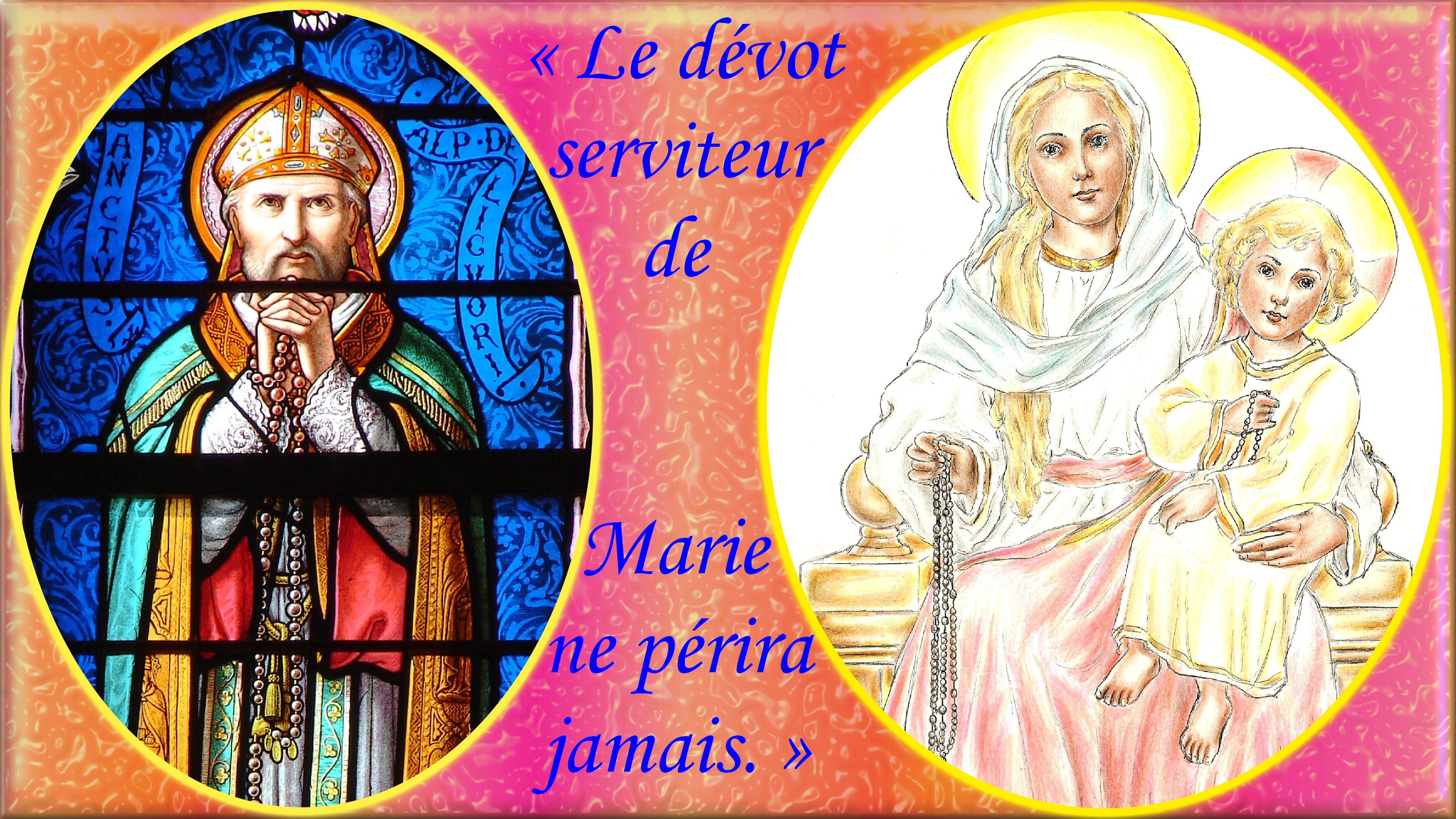 NEUVAINE à la TRÈS SAINTE VIERGE MARIE (Saint Alphonse de Liguori) St-alphonse-notre...jamais.--555d379