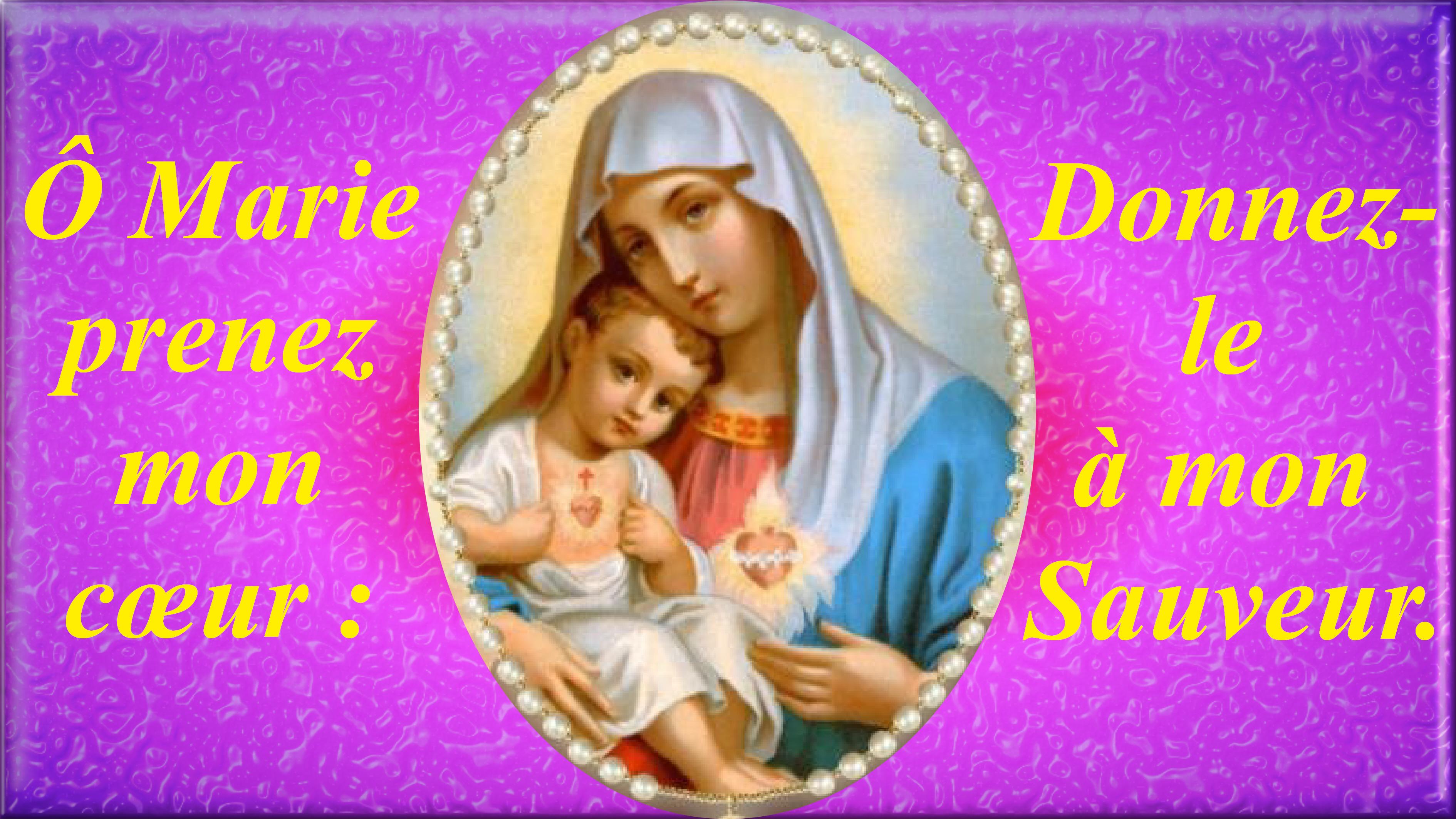CALENDRIER CATHOLIQUE 2020 (Cantiques, Prières & Images) Les-deux-coeurs-u...de-marie-558db72