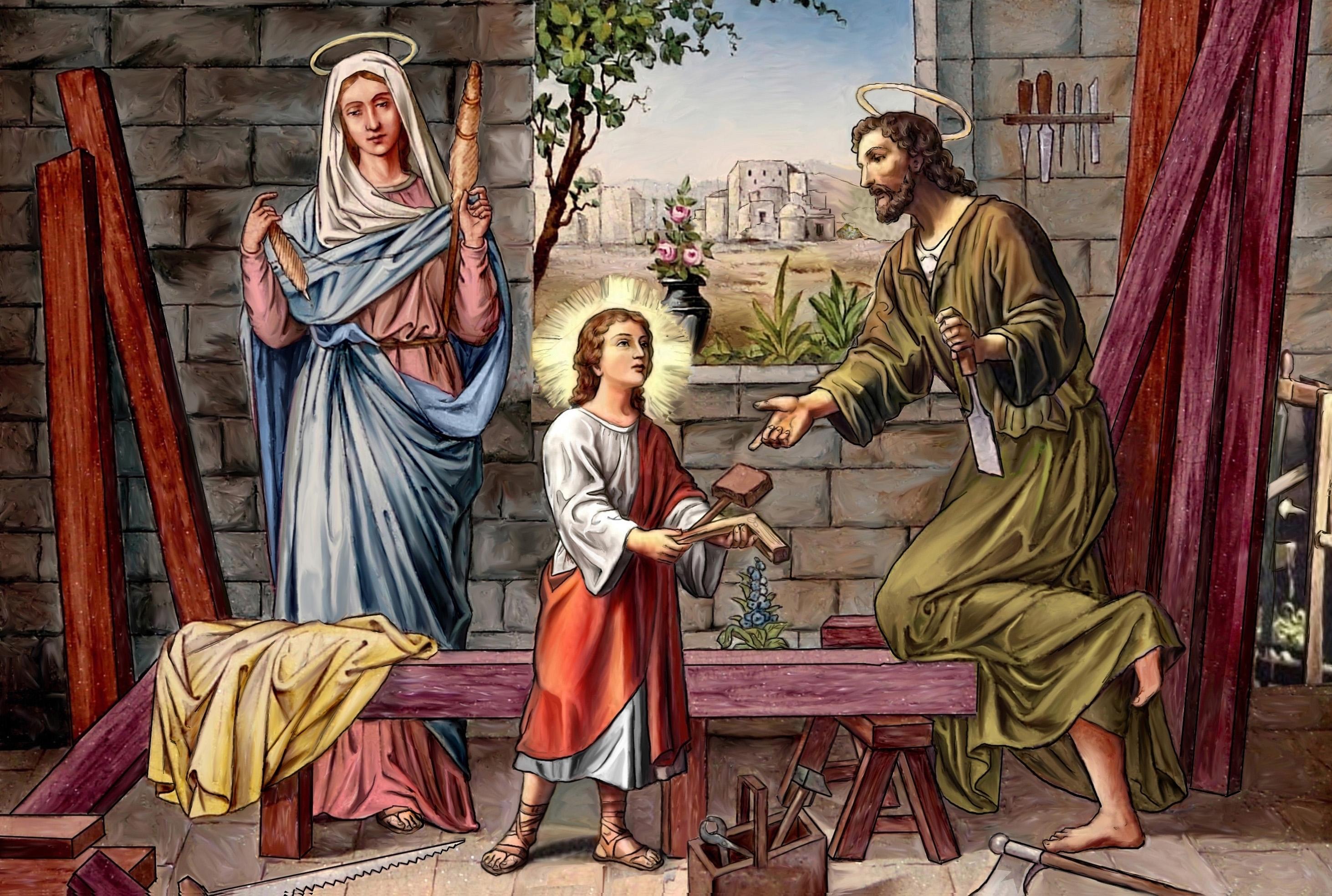 POURQUOI je t'AIME, ô MARIE ! - Page 2 La-sainte-famille-nazareth-55f8367