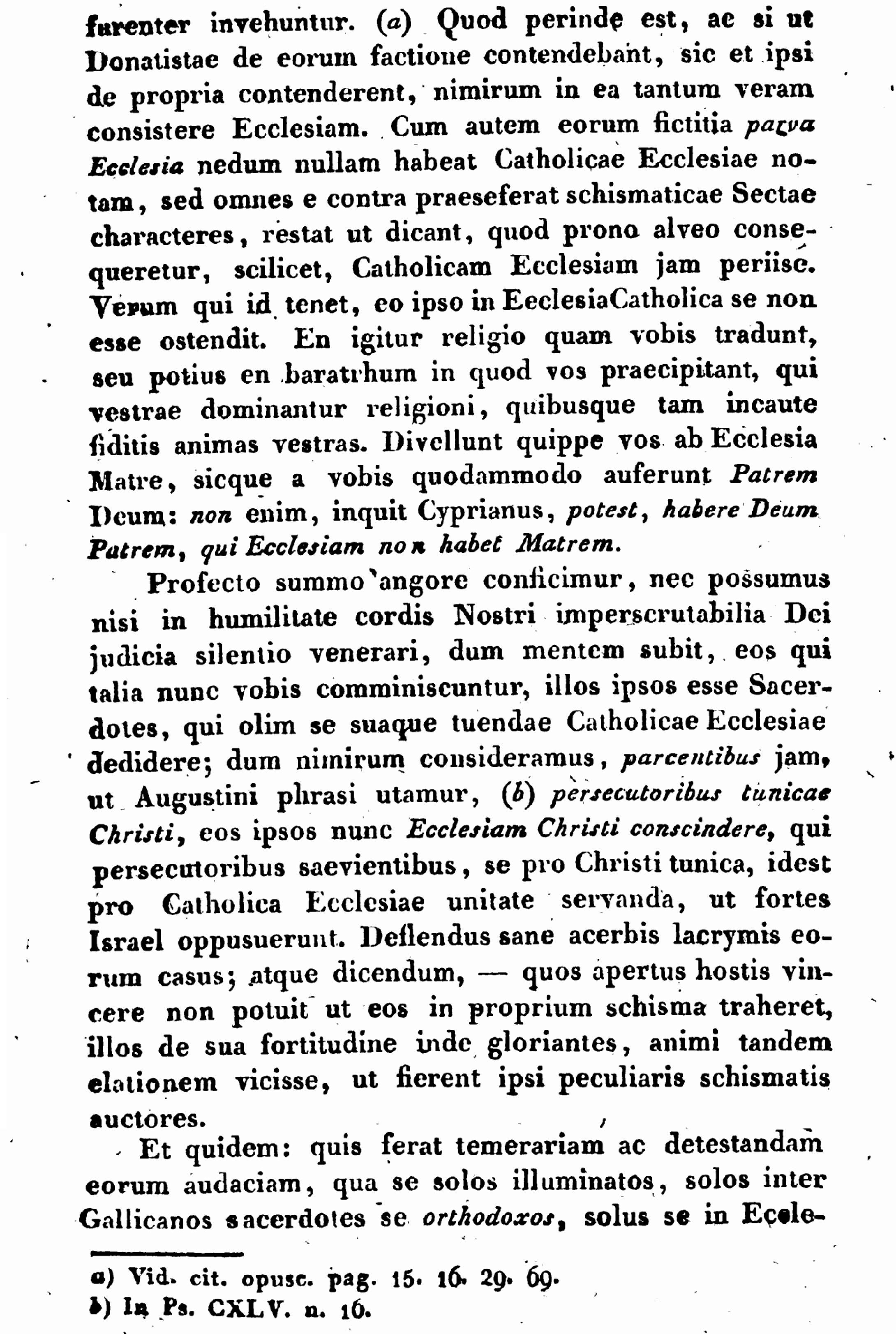 """Exhortation """"PASTORIS ÆTERNI"""" aux Dissidents anticoncordataires de la PETITE-ÉGLISE (2/7/1826) Léon XII Exhortation-pasto...n-xii-4--55d41e9"""