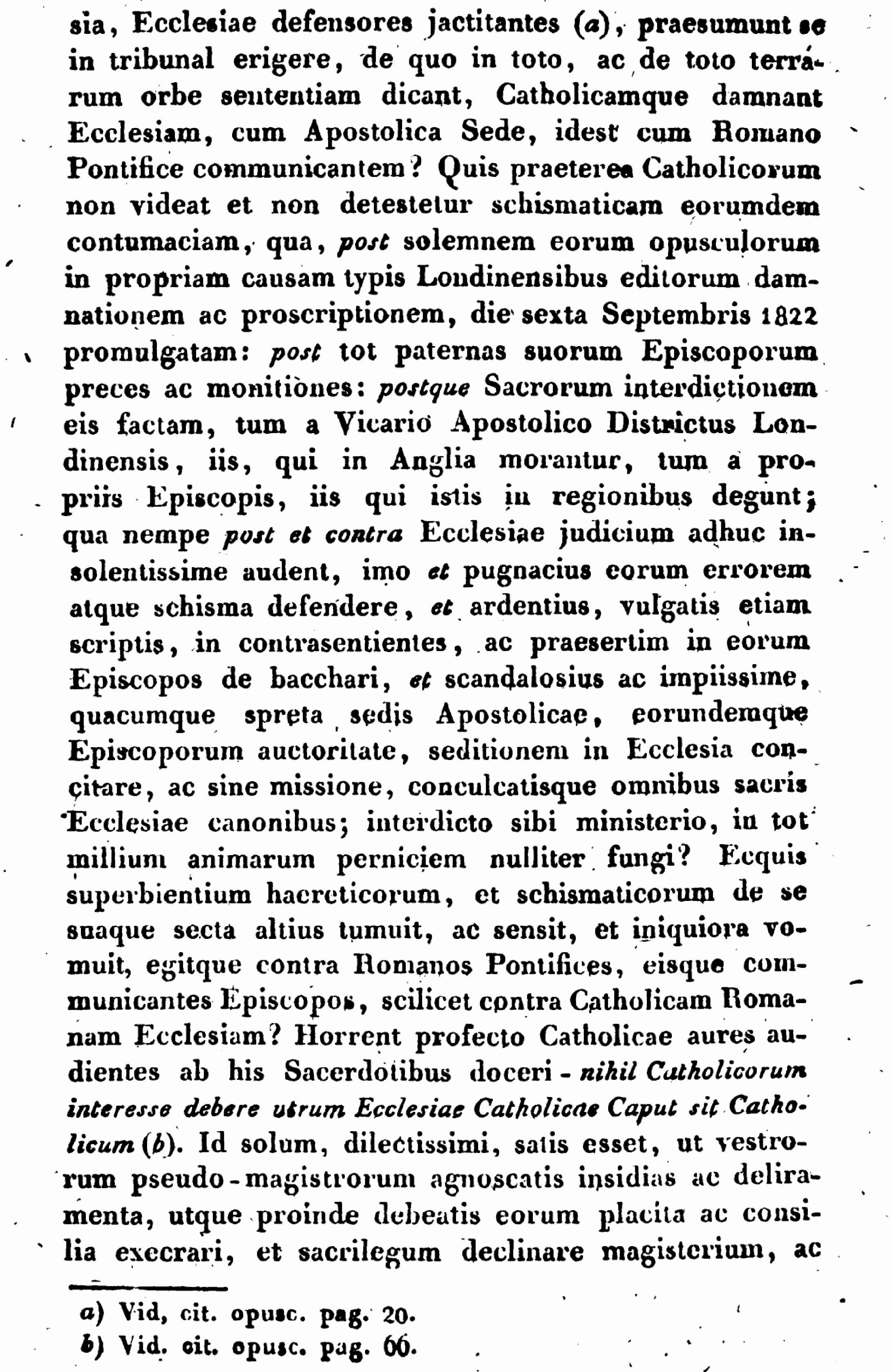 """Exhortation """"PASTORIS ÆTERNI"""" aux Dissidents anticoncordataires de la PETITE-ÉGLISE (2/7/1826) Léon XII Exhortation-pasto...n-xii-5--55d41f3"""
