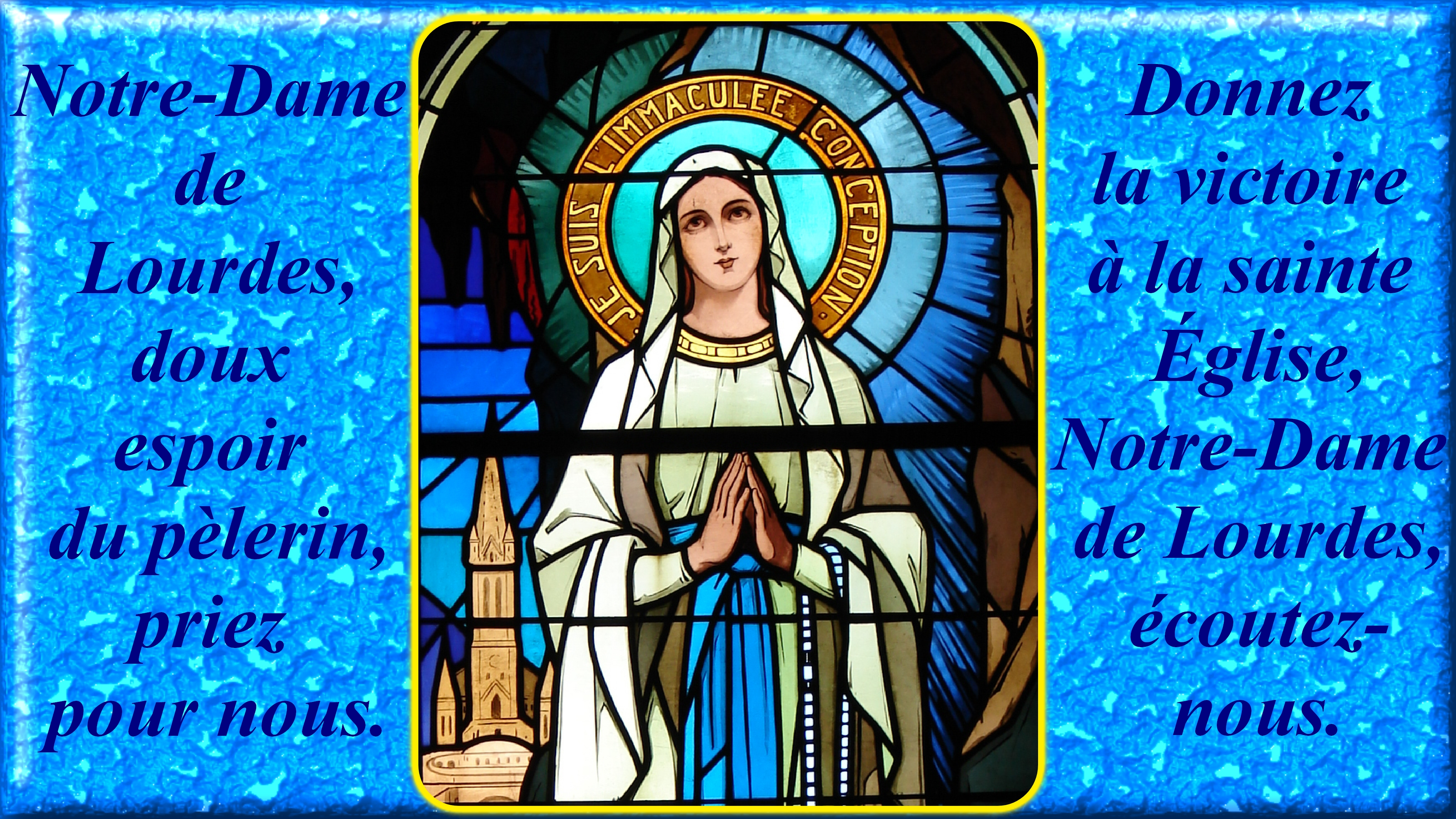CALENDRIER CATHOLIQUE 2020 (Cantiques, Prières & Images) - Page 5 Notre-dame-de-lou...-p-lerin-55b56ac