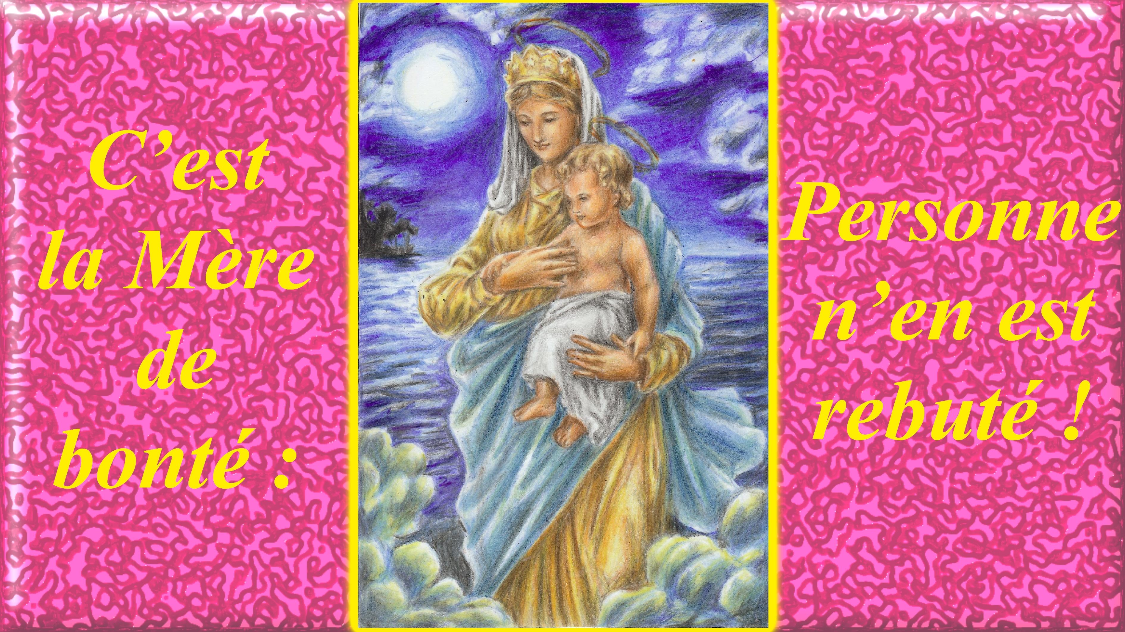 NEUVAINE à la TRÈS SAINTE VIERGE MARIE (Saint Alphonse de Liguori) Notre-dame-c-est-...t-rebut--5563a5a