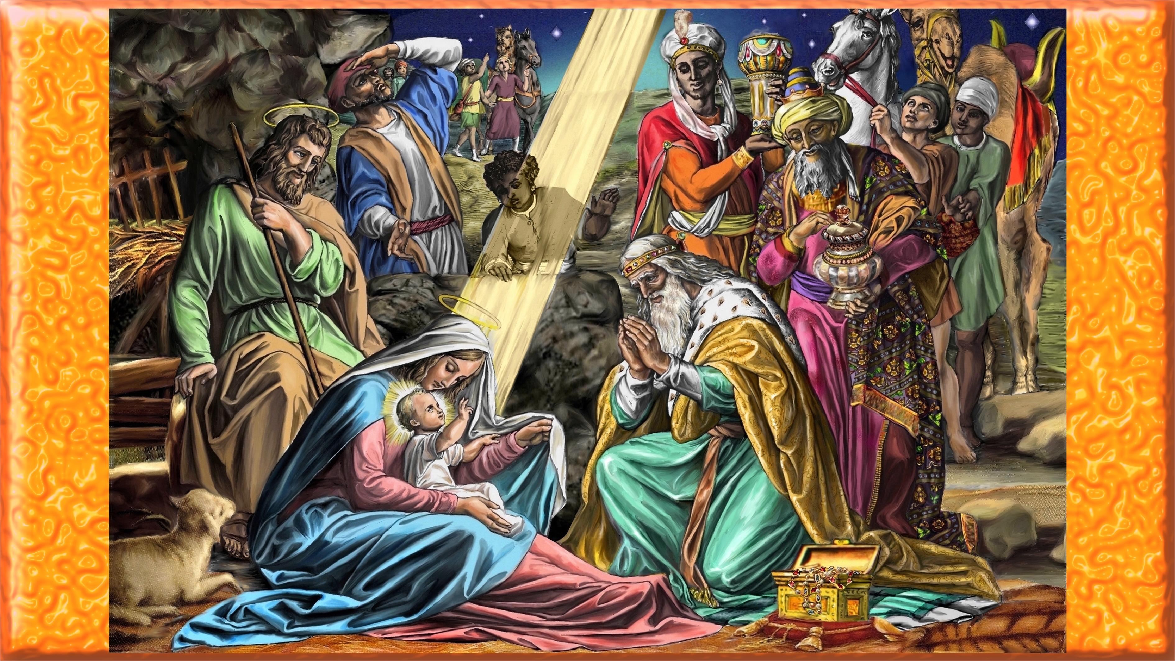 POURQUOI je t'AIME, ô MARIE ! - Page 2 Adoration-des-rois-5594792