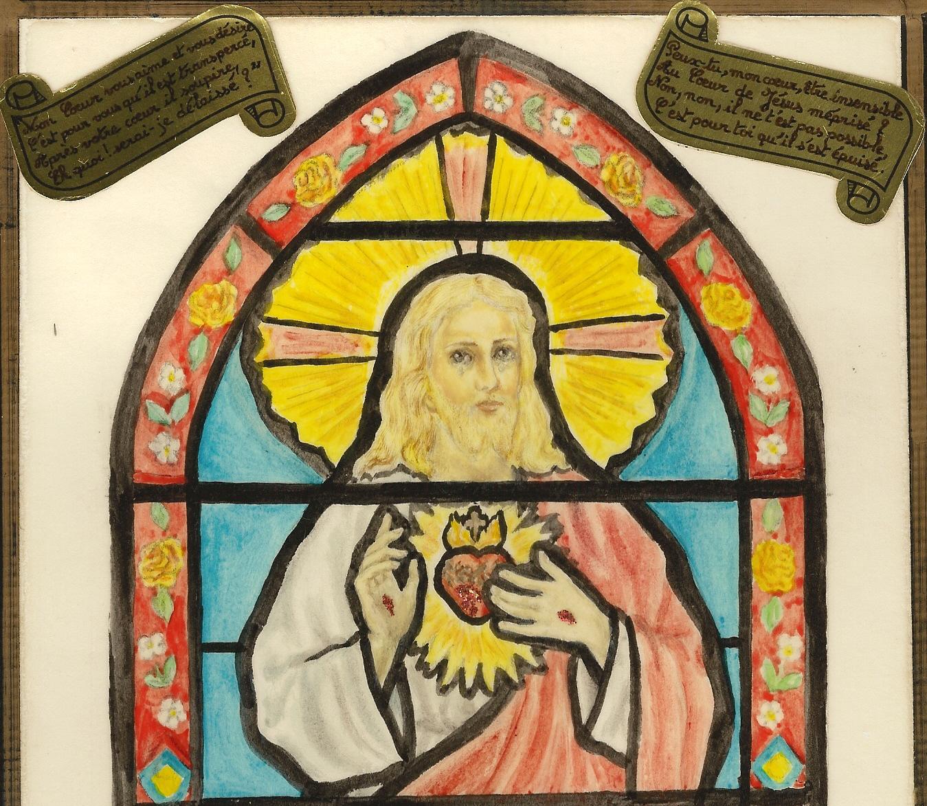 CALENDRIER CATHOLIQUE 2019 (Cantiques, Prières & Images) - Page 8 Peux-tu-mon-coeur...-m-pris--568a035