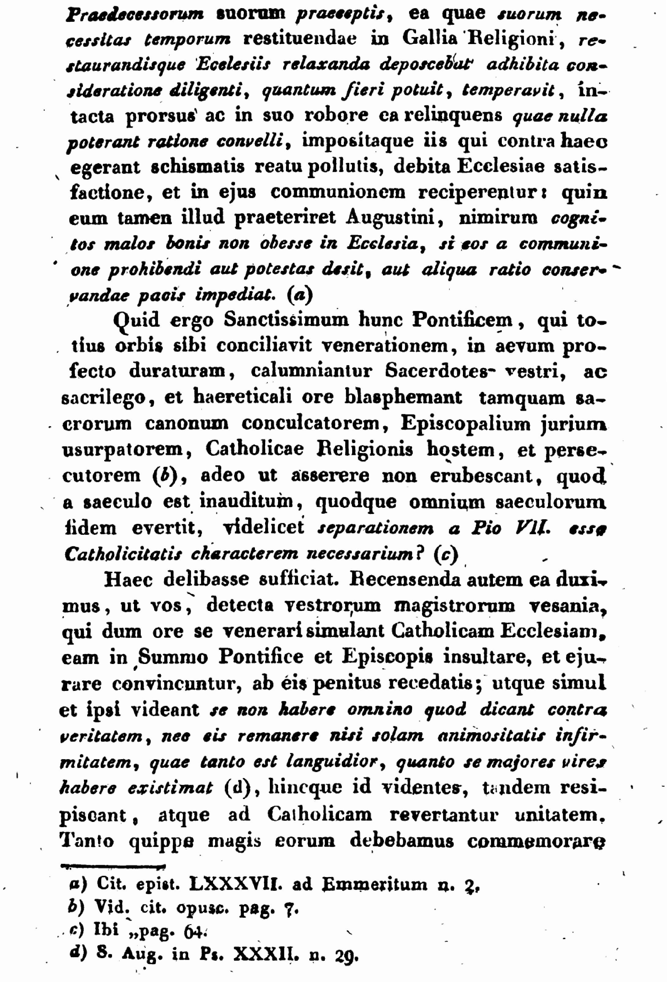 """Exhortation """"PASTORIS ÆTERNI"""" aux Dissidents anticoncordataires de la PETITE-ÉGLISE (2/7/1826) Léon XII Exhortation-pasto...n-xii-8--55d6274"""