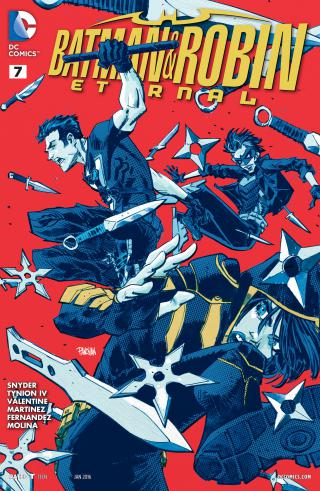 Batman Et Robin Eternal Tome 07 French