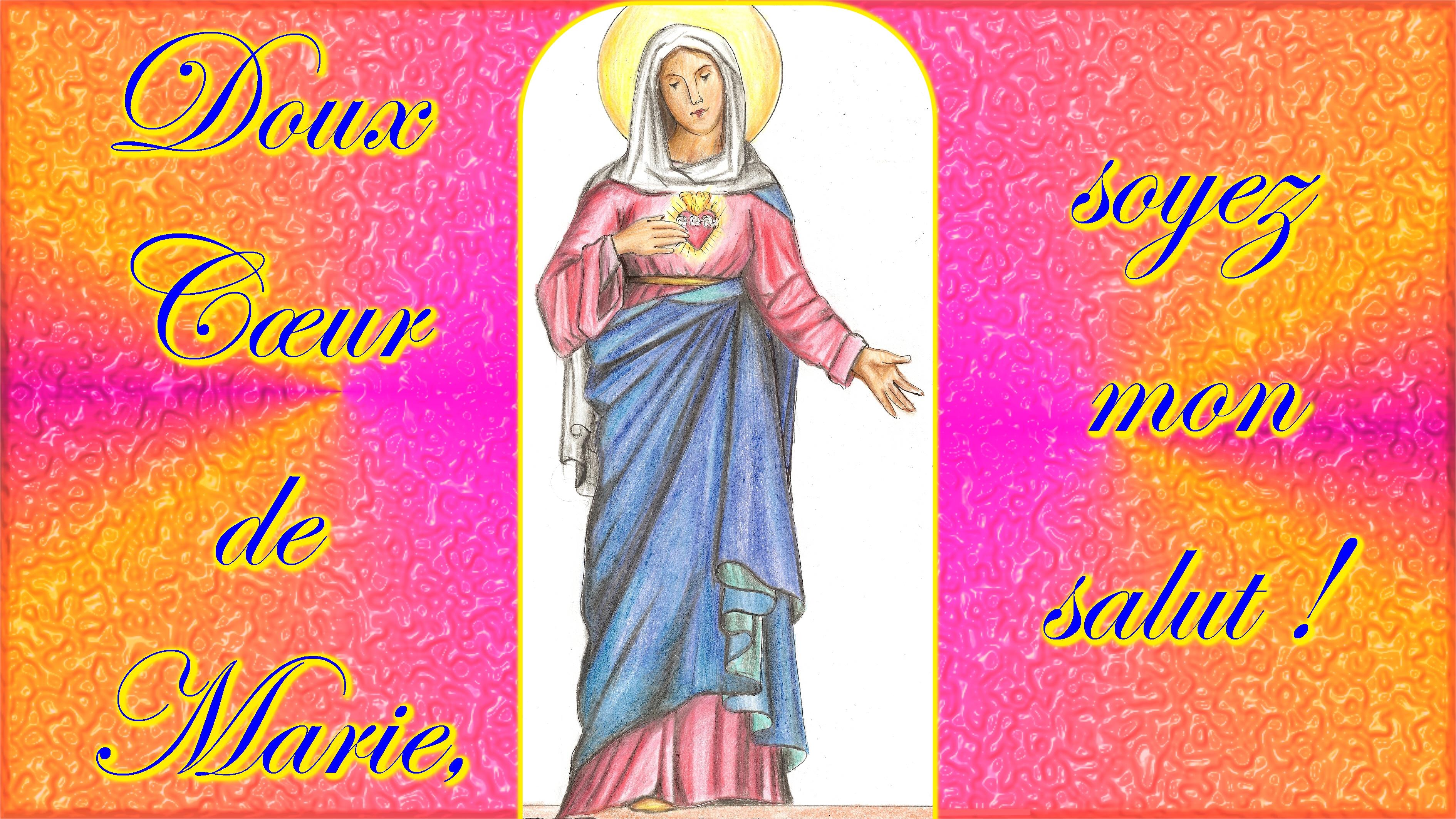 LITANIES du SAINT CŒUR de MARIE (composées par St Jean Eudes) Coeur-immacul-de-marie-567e2d8