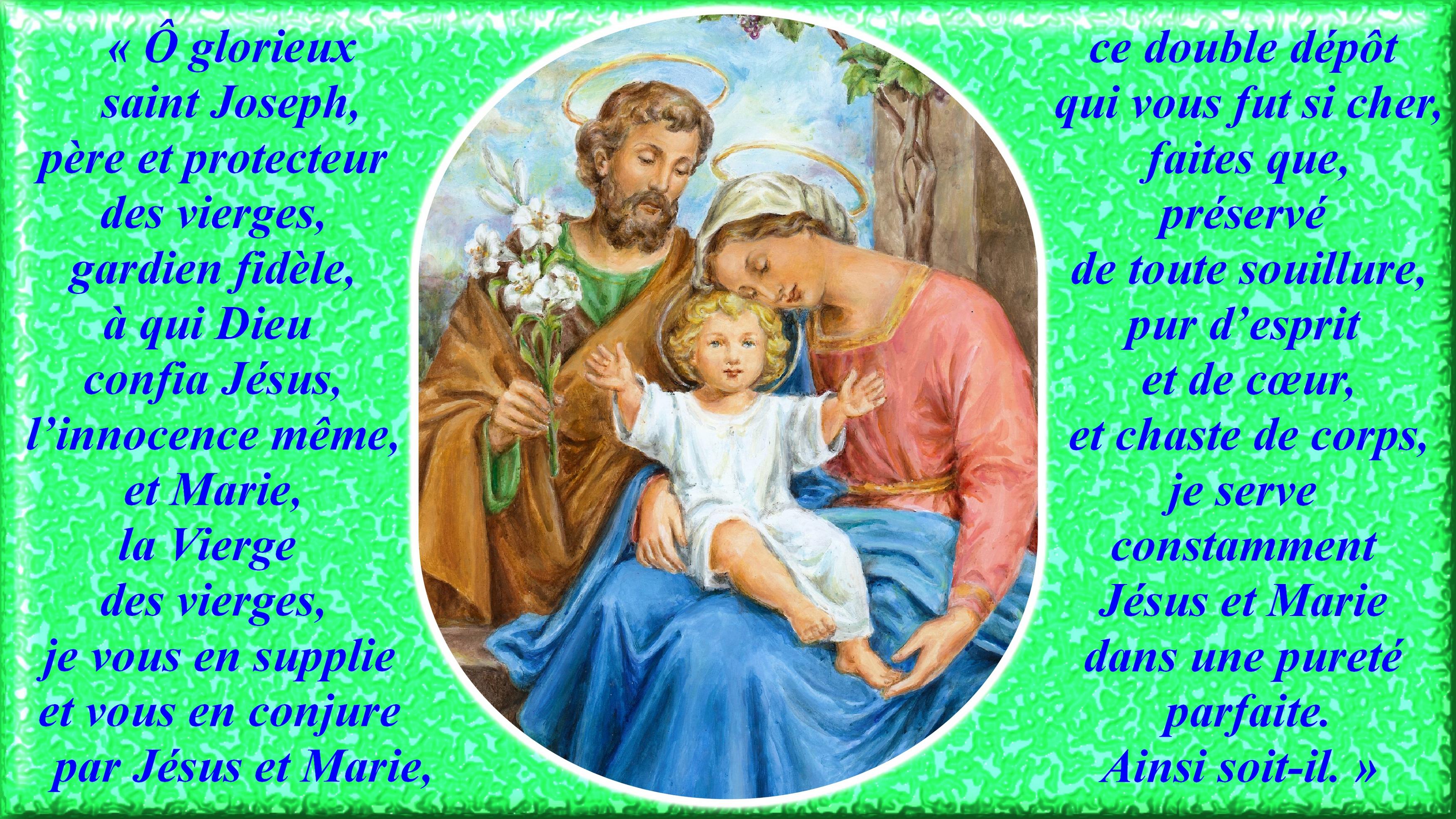 CALENDRIER CATHOLIQUE 2020 (Cantiques, Prières & Images) - Page 8 St-joseph-p-re-et...-vierges-557a652