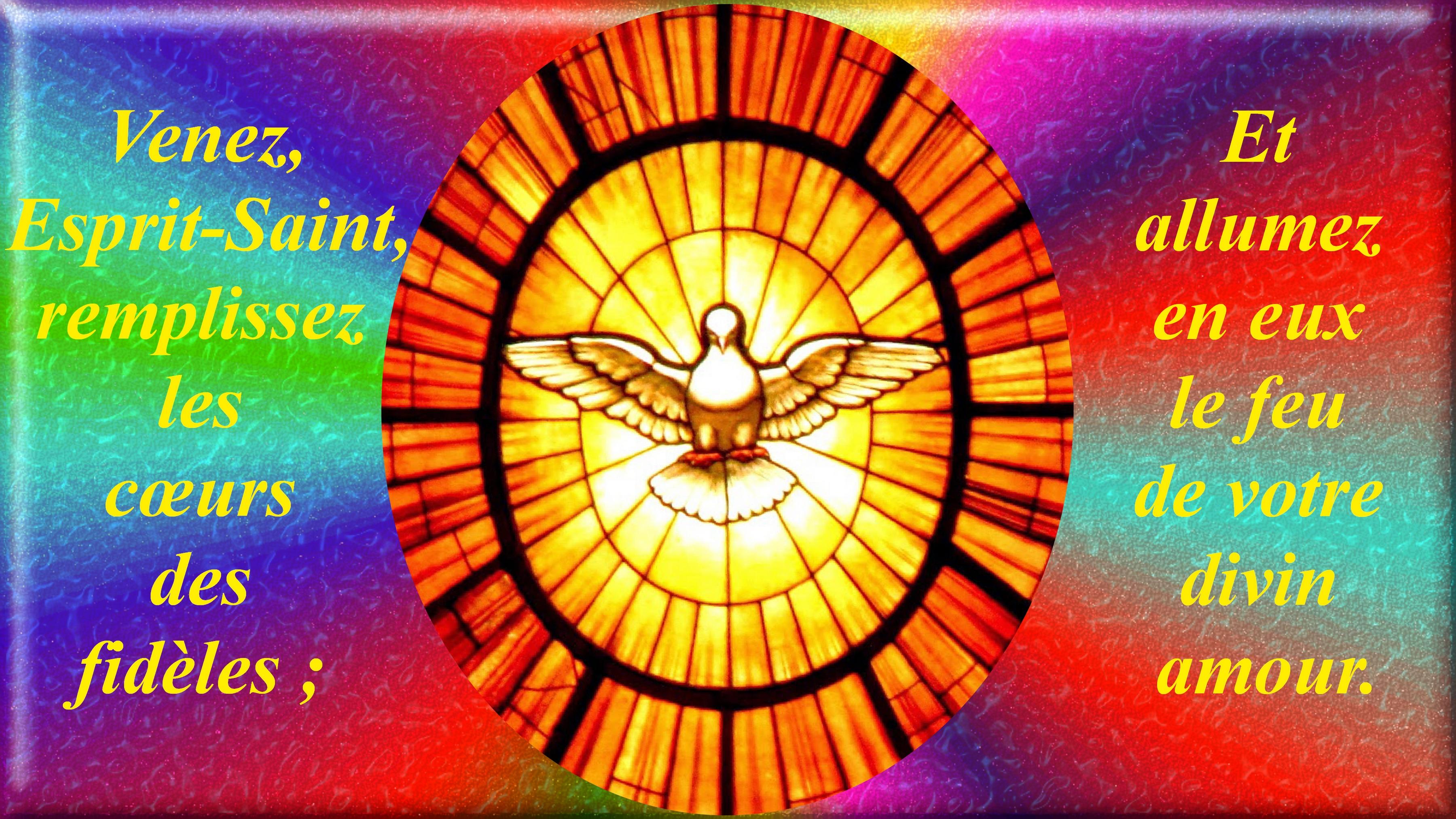 CALENDRIER CATHOLIQUE 2020 (Cantiques, Prières & Images) - Page 16 Le-saint-esprit-2--563eea6