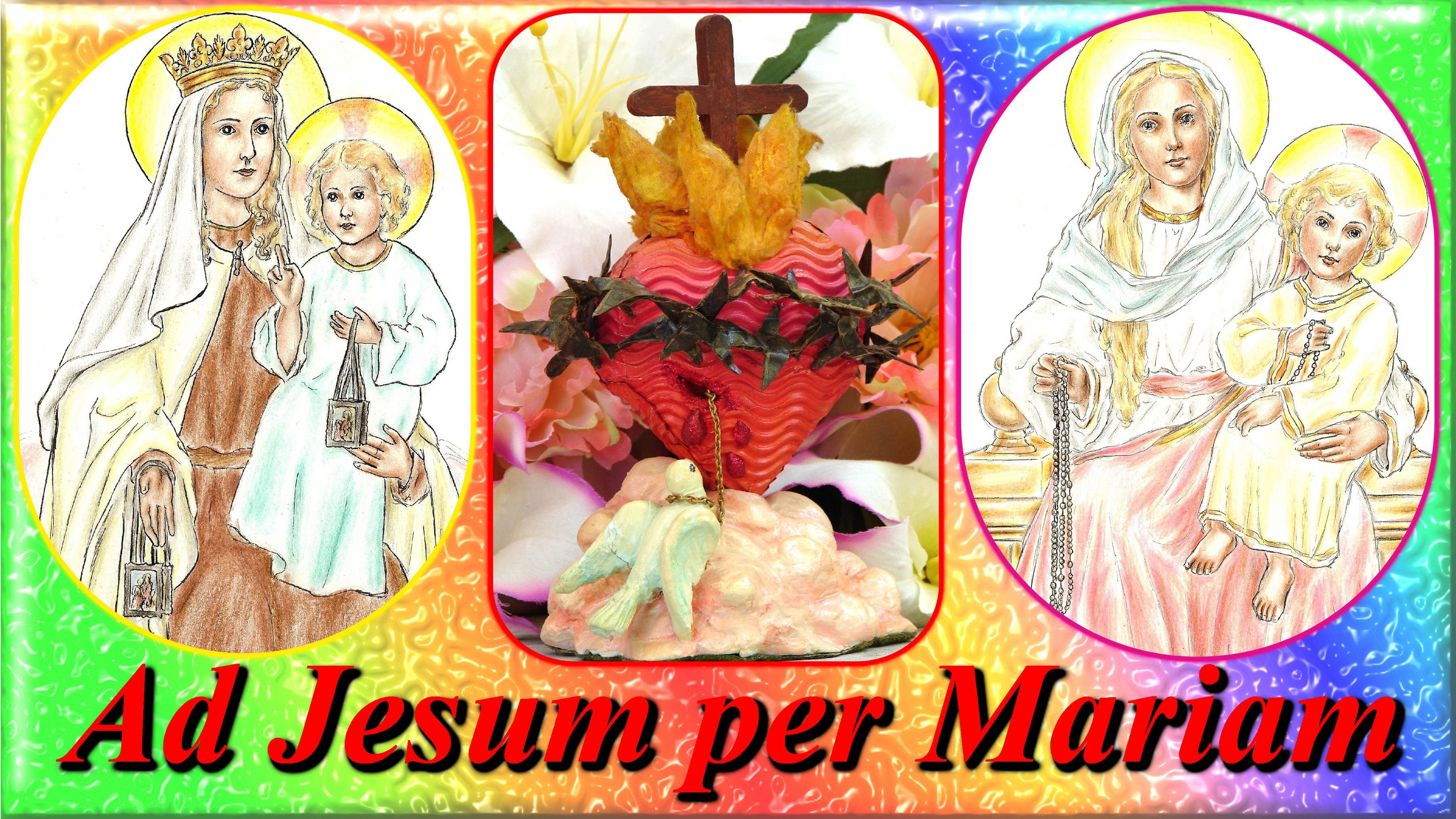 L'ANNÉE MARIALE par la Mère de Chaugy - Page 4 Ad-jesum-per-mariam-558f552