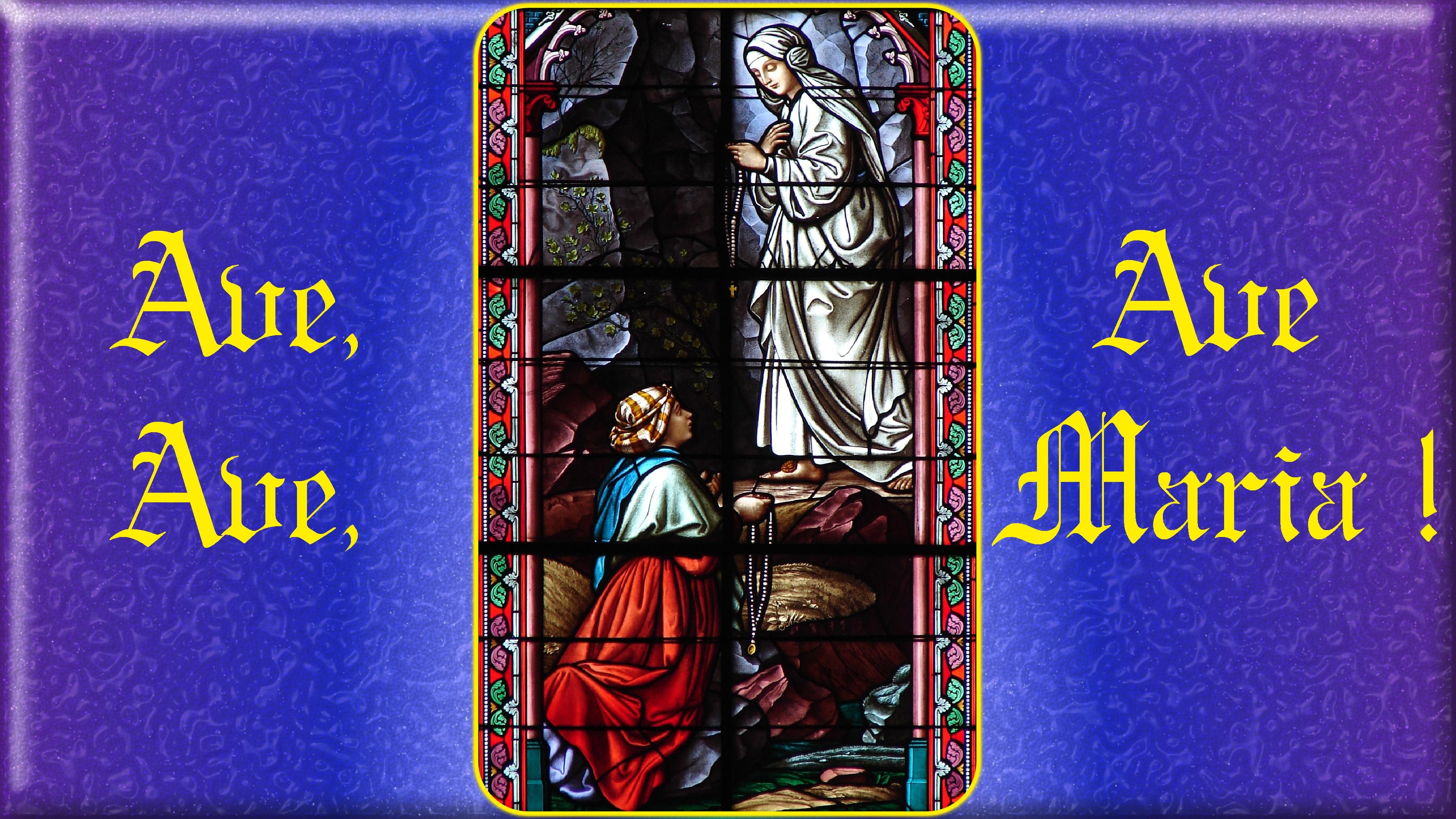 LOURDES HISTORIQUE Lourdes-_-1-re-ap...e-vierge-55cbf4f