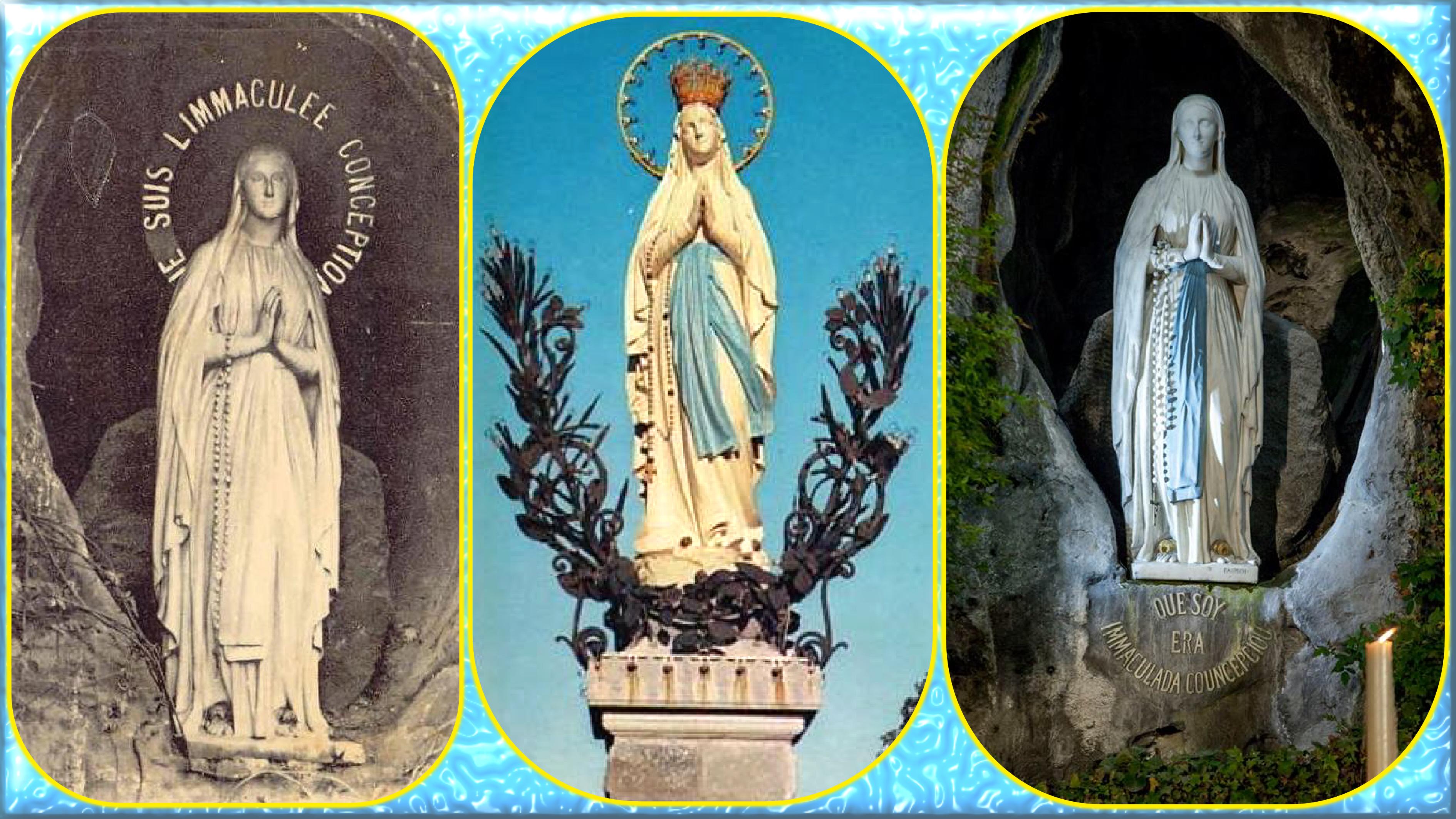 CALENDRIER CATHOLIQUE 2020 (Cantiques, Prières & Images) - Page 5 Notre-dame-de-lou...uronn-e--55b5698