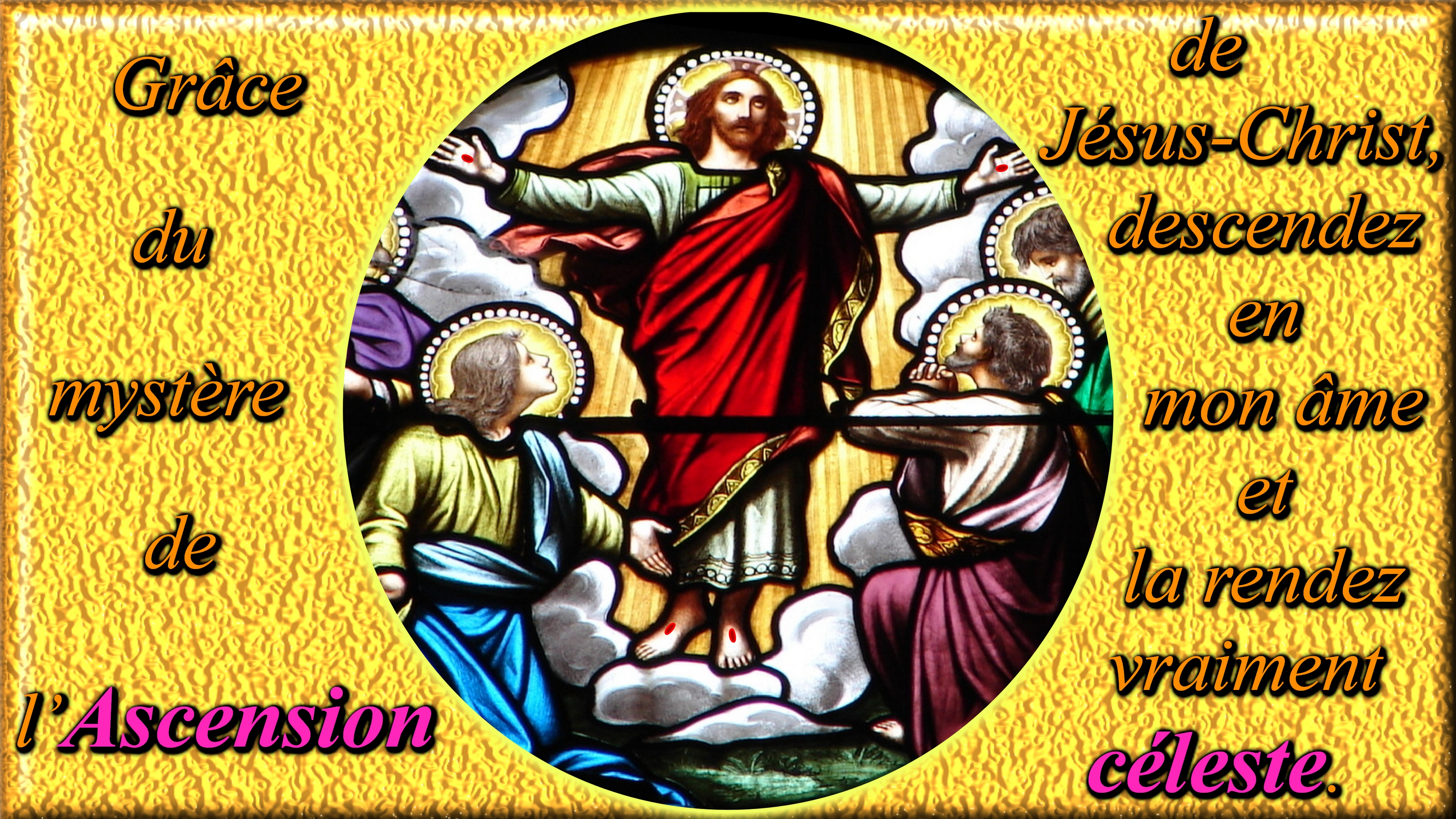 CALENDRIER CATHOLIQUE 2020 (Cantiques, Prières & Images) - Page 15 Les-15-myst-res-d...scension-555db5b