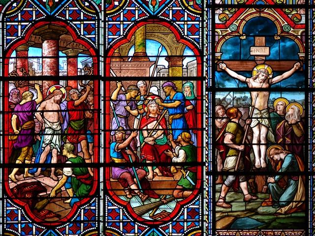 CALENDRIER CATHOLIQUE 2020 (Cantiques, Prières & Images) - Page 9 Flagellation---co...ifiement-5616d81