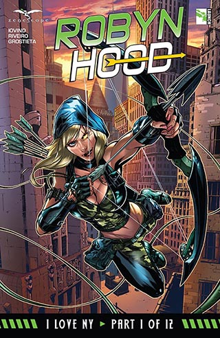 Grimm Fairy Tales - Robyn Hood I Love NY  08 Tomes French