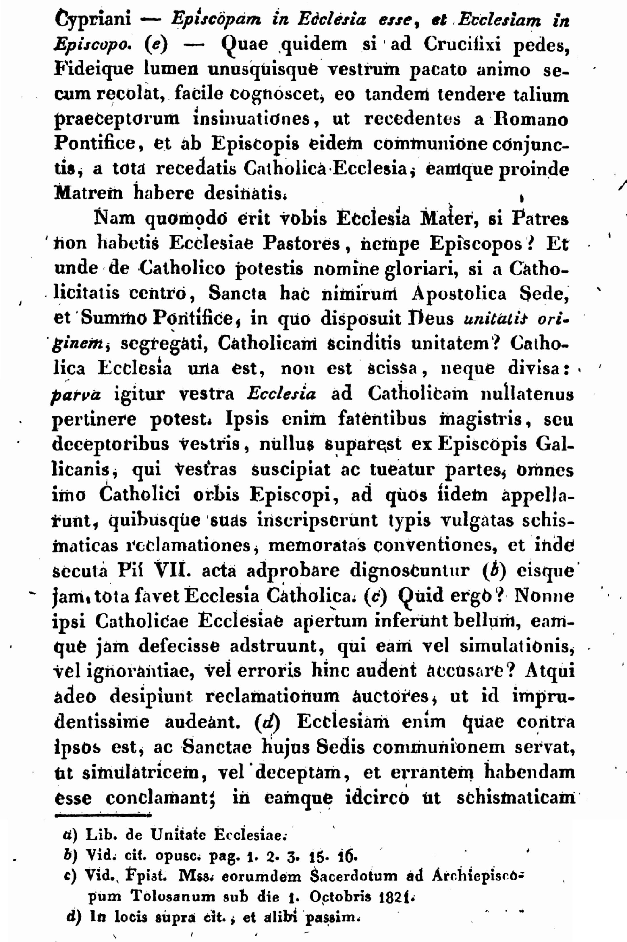 """Exhortation """"PASTORIS ÆTERNI"""" aux Dissidents anticoncordataires de la PETITE-ÉGLISE (2/7/1826) Léon XII Exhortation-pasto...n-xii-3--55d41e5"""