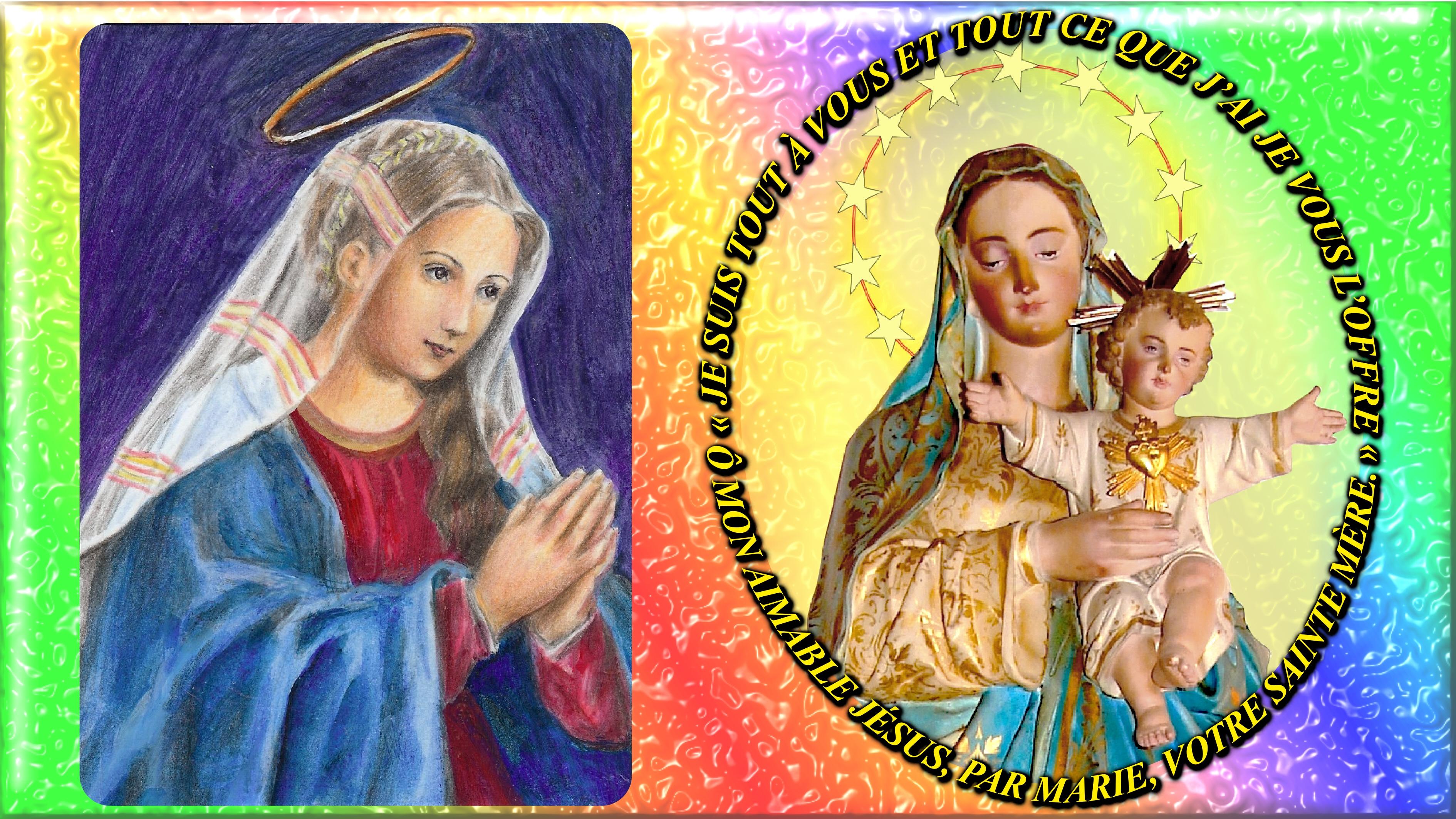 NEUVAINE à la TRÈS SAINTE VIERGE MARIE (Saint Alphonse de Liguori) - Page 2 Cons-cration-j-su...r--coeur-55786cb
