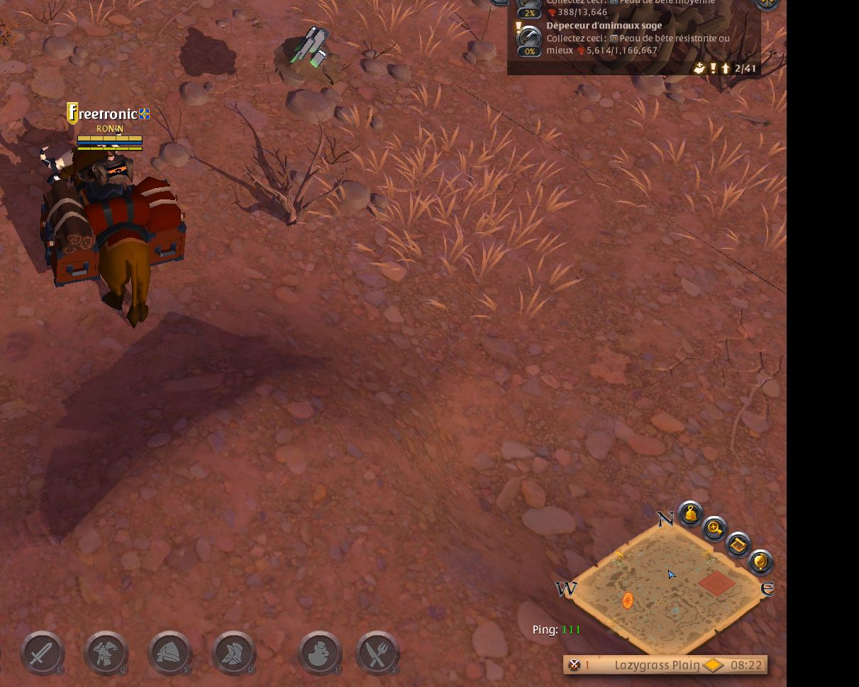 Albion Online Problems graphic problems at ground level at lazygrass plain - bugs