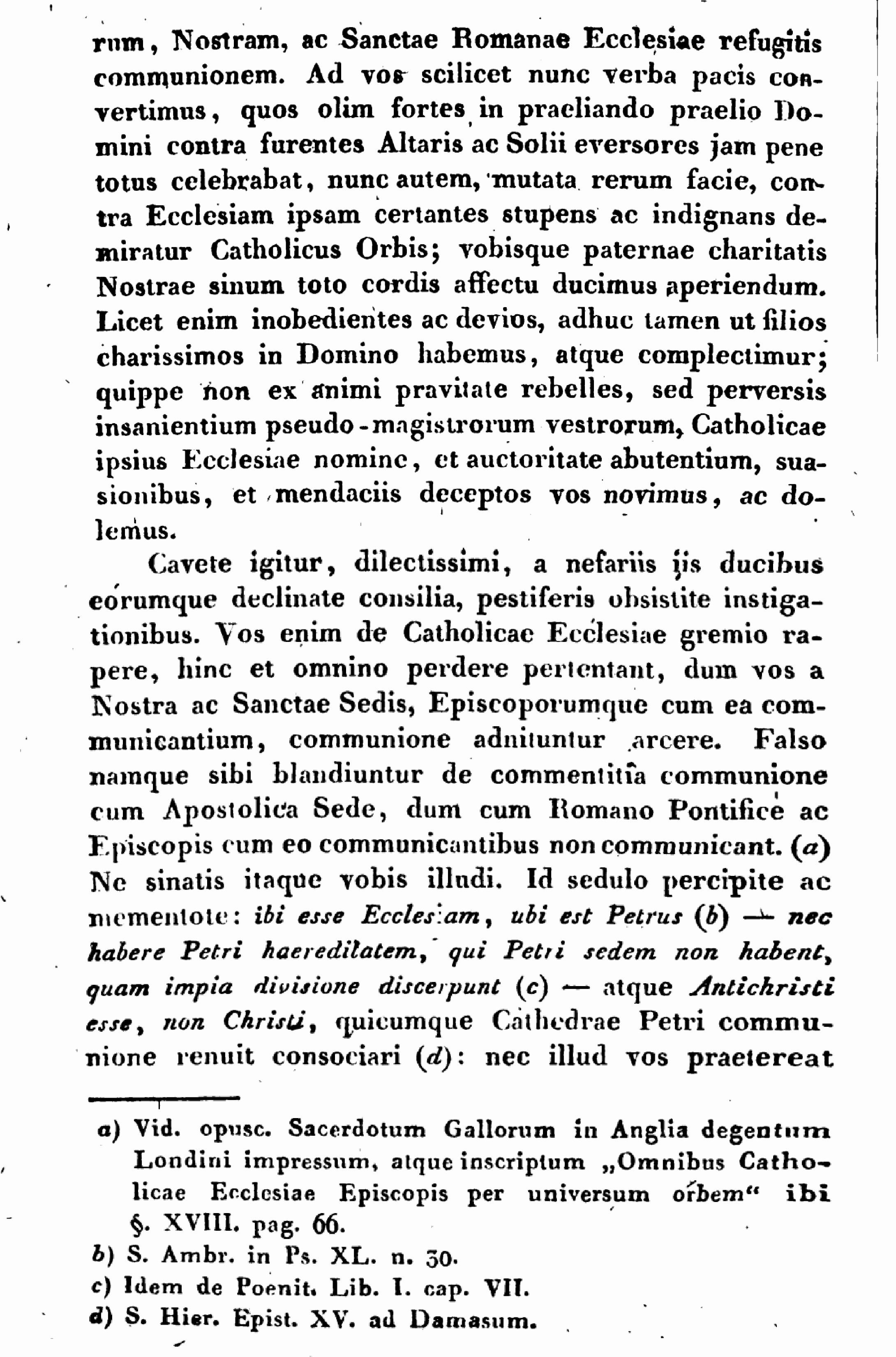 """Exhortation """"PASTORIS ÆTERNI"""" aux Dissidents anticoncordataires de la PETITE-ÉGLISE (2/7/1826) Léon XII Exhortation-pasto...n-xii-2--55d41d5"""