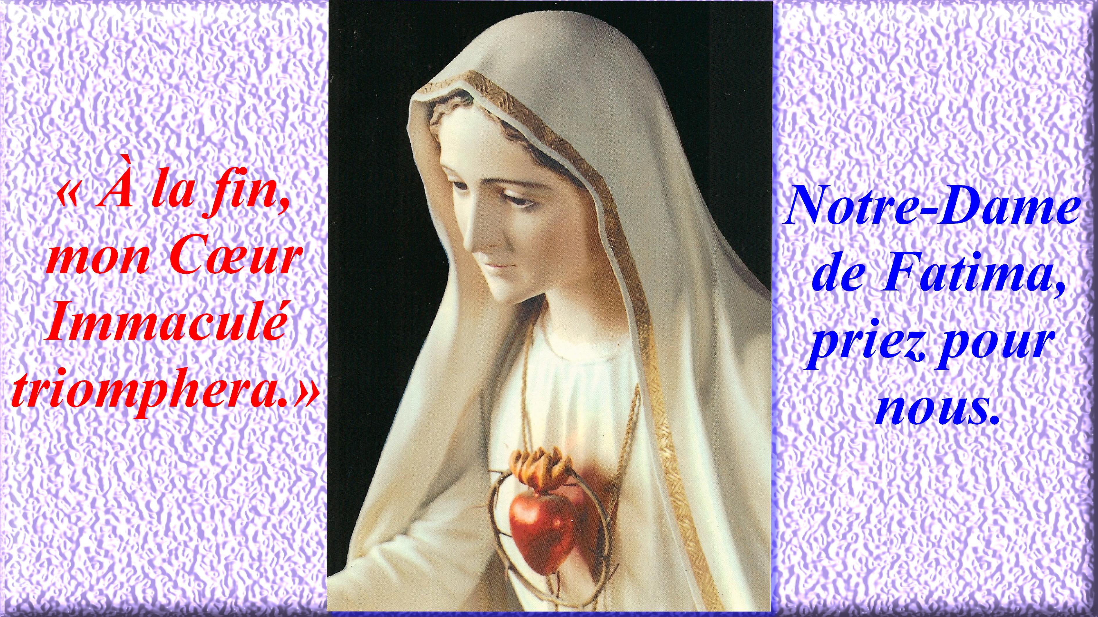CALENDRIER CATHOLIQUE 2019 (Cantiques, Prières & Images) - Page 2 Notre-dame-de-fat...mphera.--55ed610