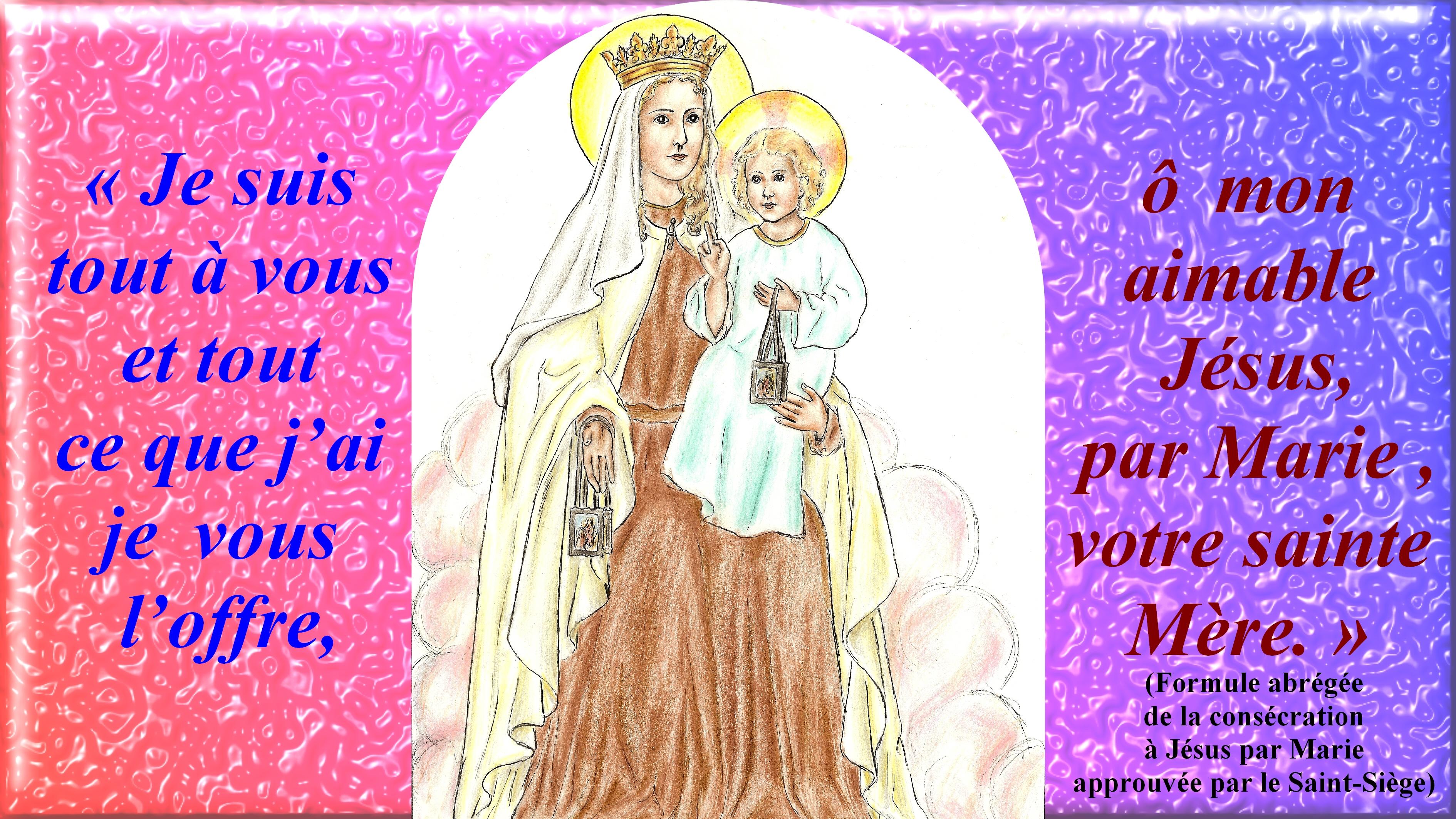 CALENDRIER CATHOLIQUE 2019 (Cantiques, Prières & Images) - Page 2 Notre-dame-du-mont-carmel-2--565ae45