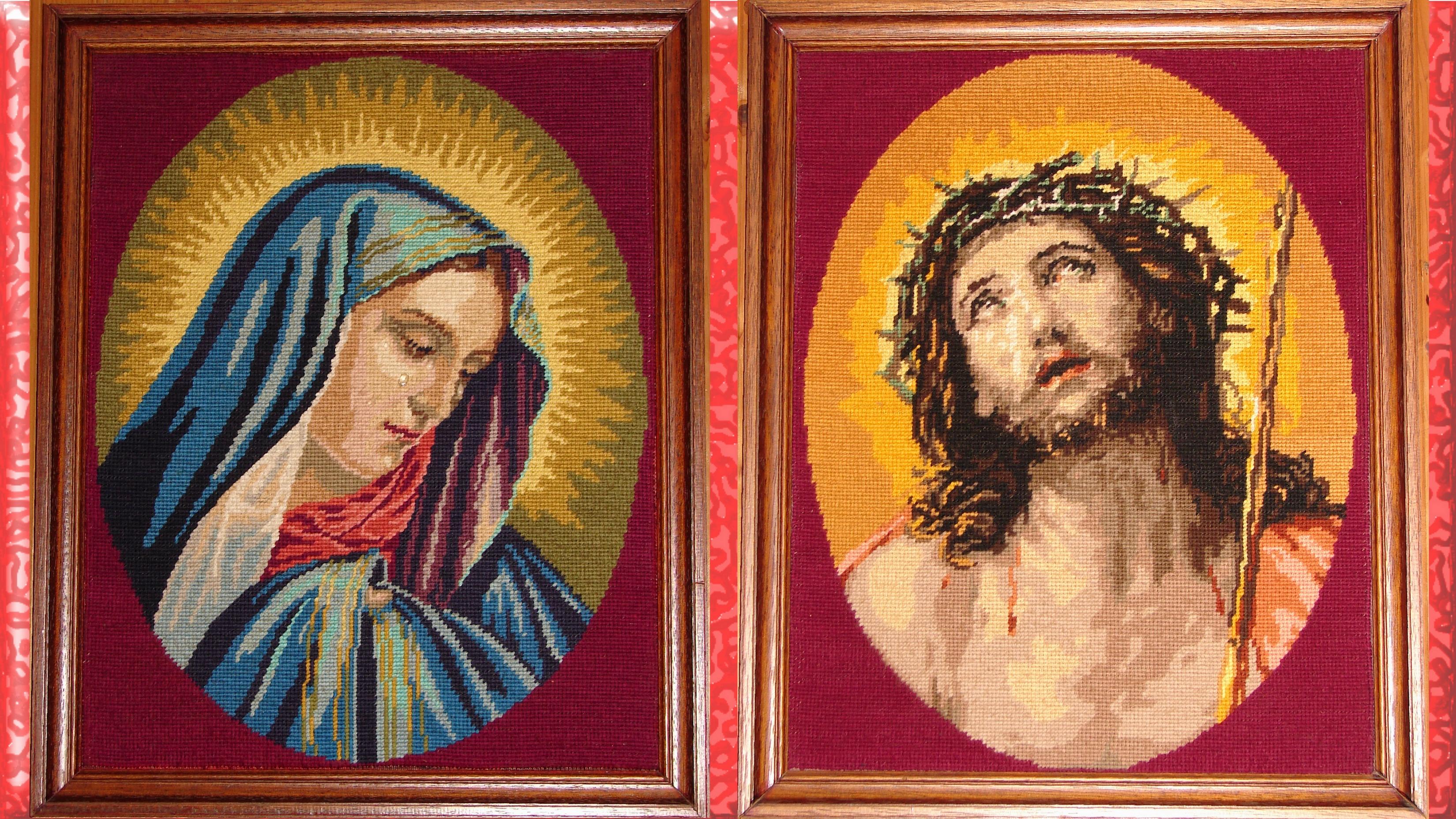 CALENDRIER CATHOLIQUE 2020 (Cantiques, Prières & Images) - Page 10 Ecce-homo-notre-d...canevas--560901b