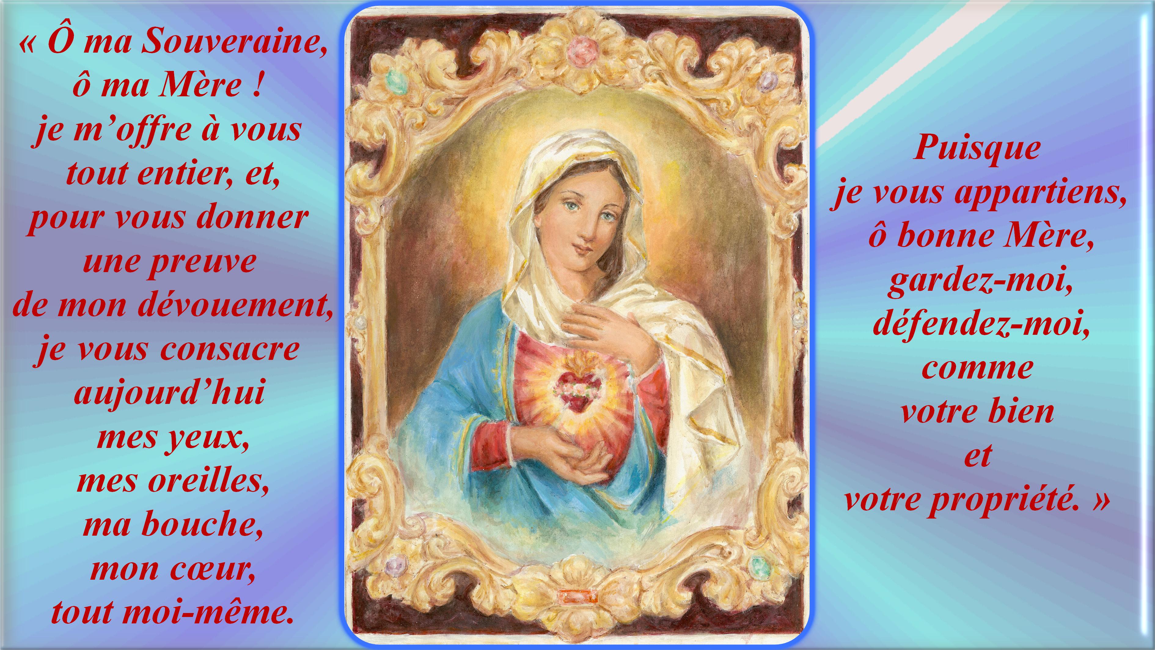 NEUVAINE à la TRÈS SAINTE VIERGE MARIE (Saint Alphonse de Liguori) Le-coeur-immacul-...ma-m-re--5564a39