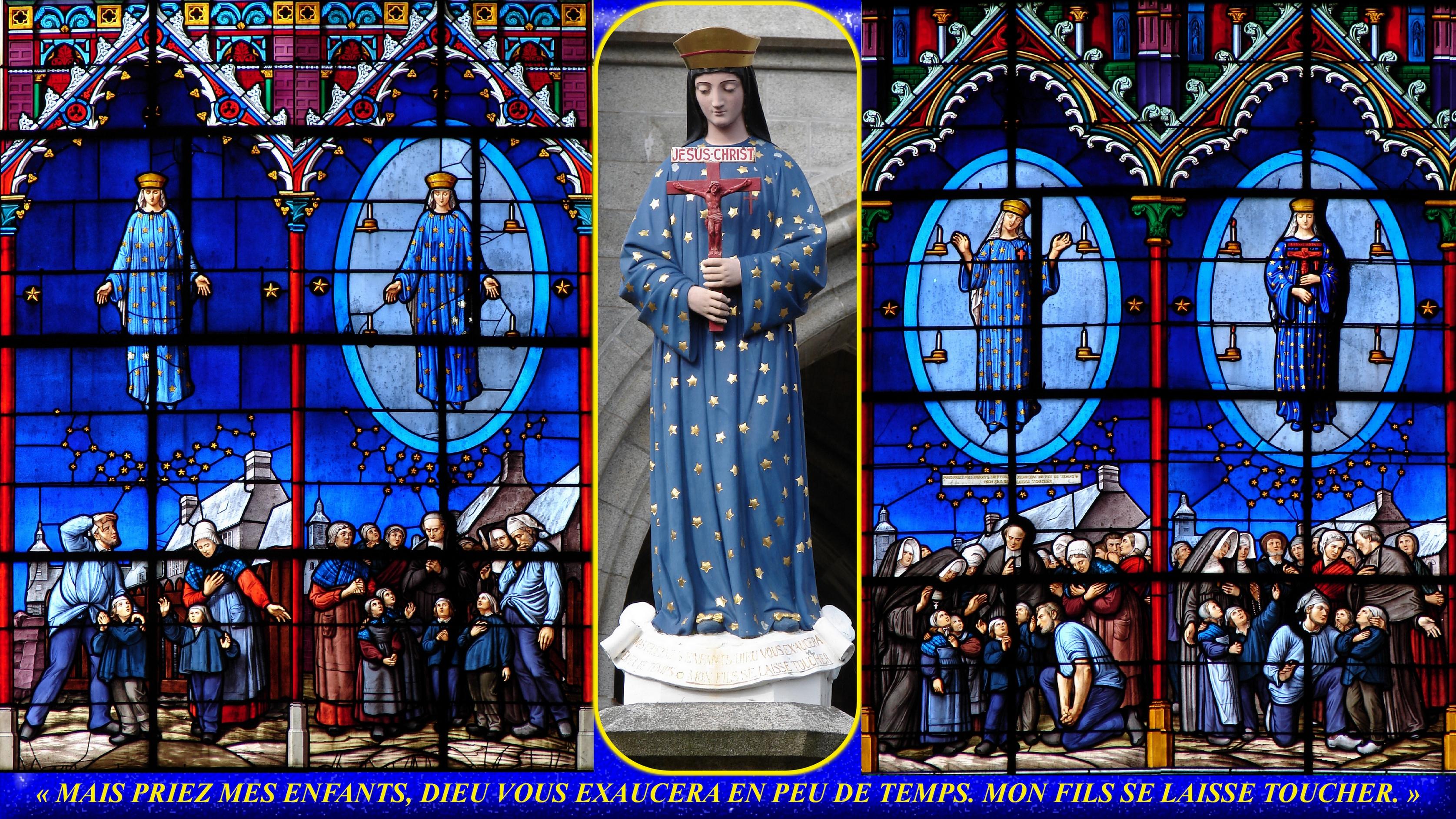 CALENDRIER CATHOLIQUE 2020 (Cantiques, Prières & Images) - Page 2 Notre-dame-de-pon...arition--55a0ff9